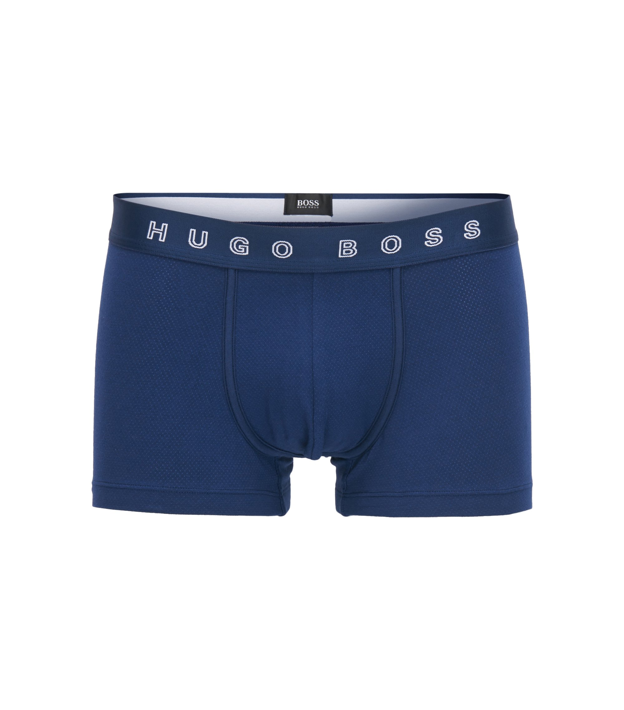 Stretch Cotton Trunk | Trunk Structure, Blue