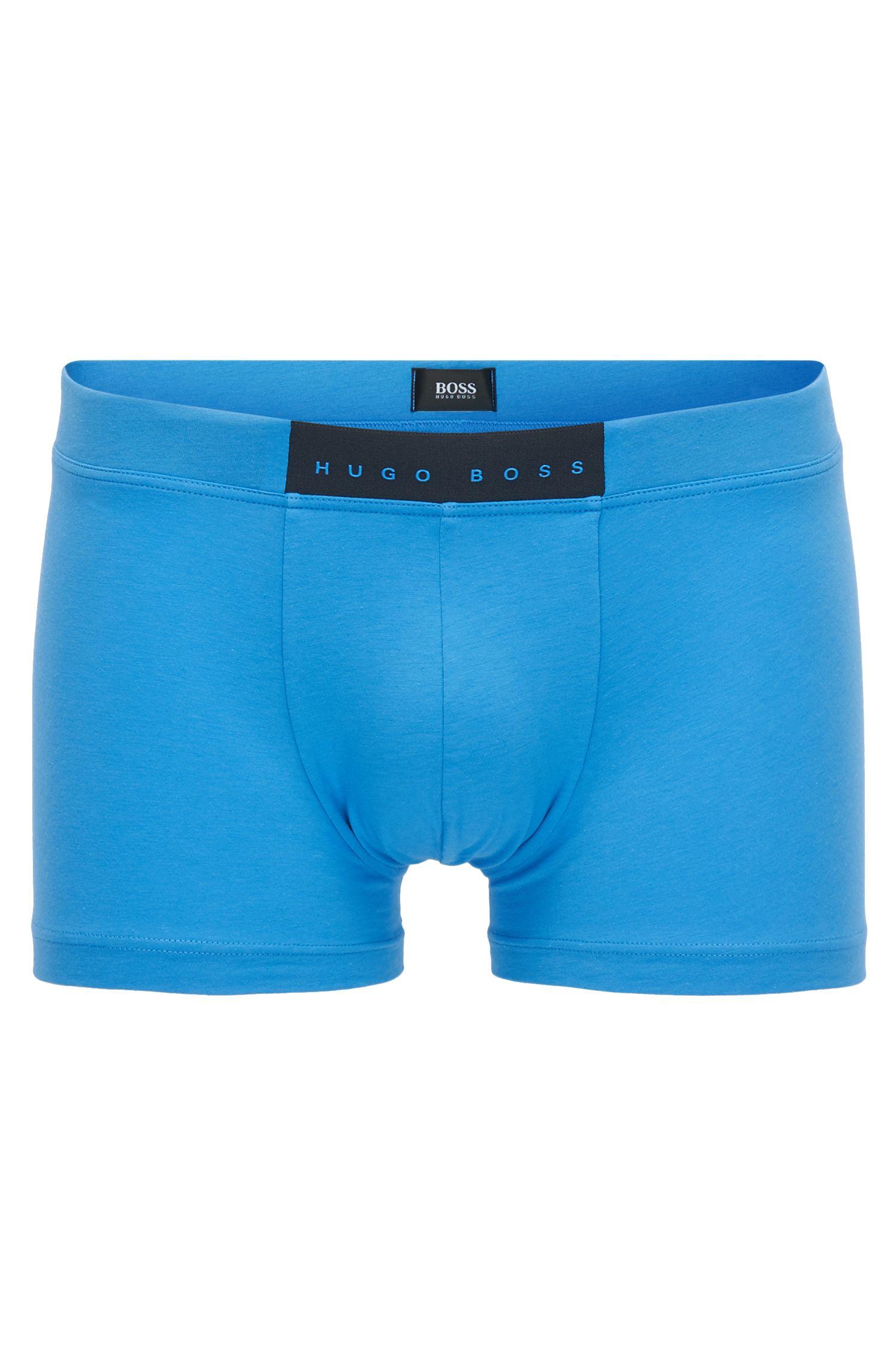 Stretch Cotton Trunk | Trunk Comfort, Blue