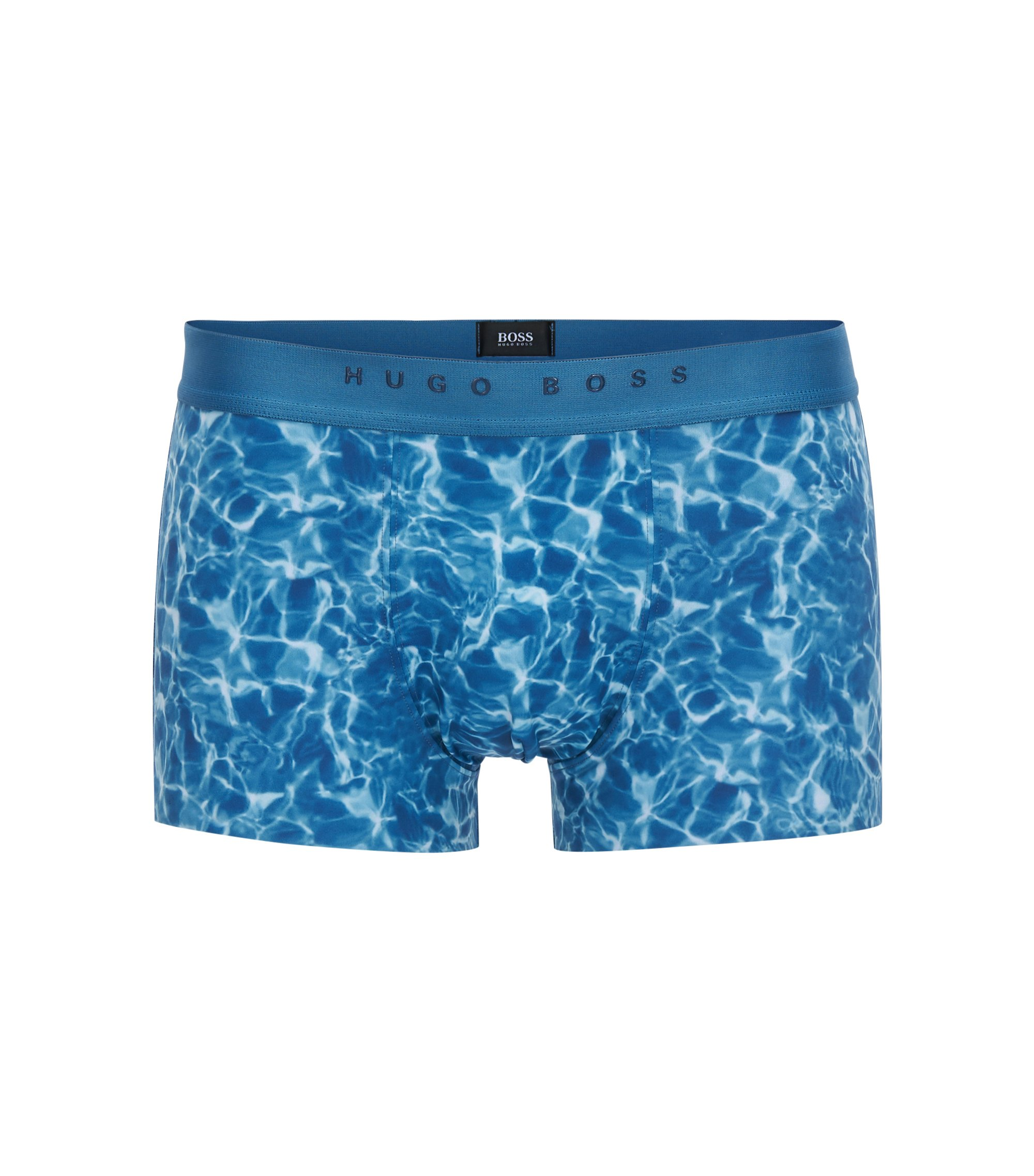 Pool-Print Trunk | Trunk Photoprint, Open Blue