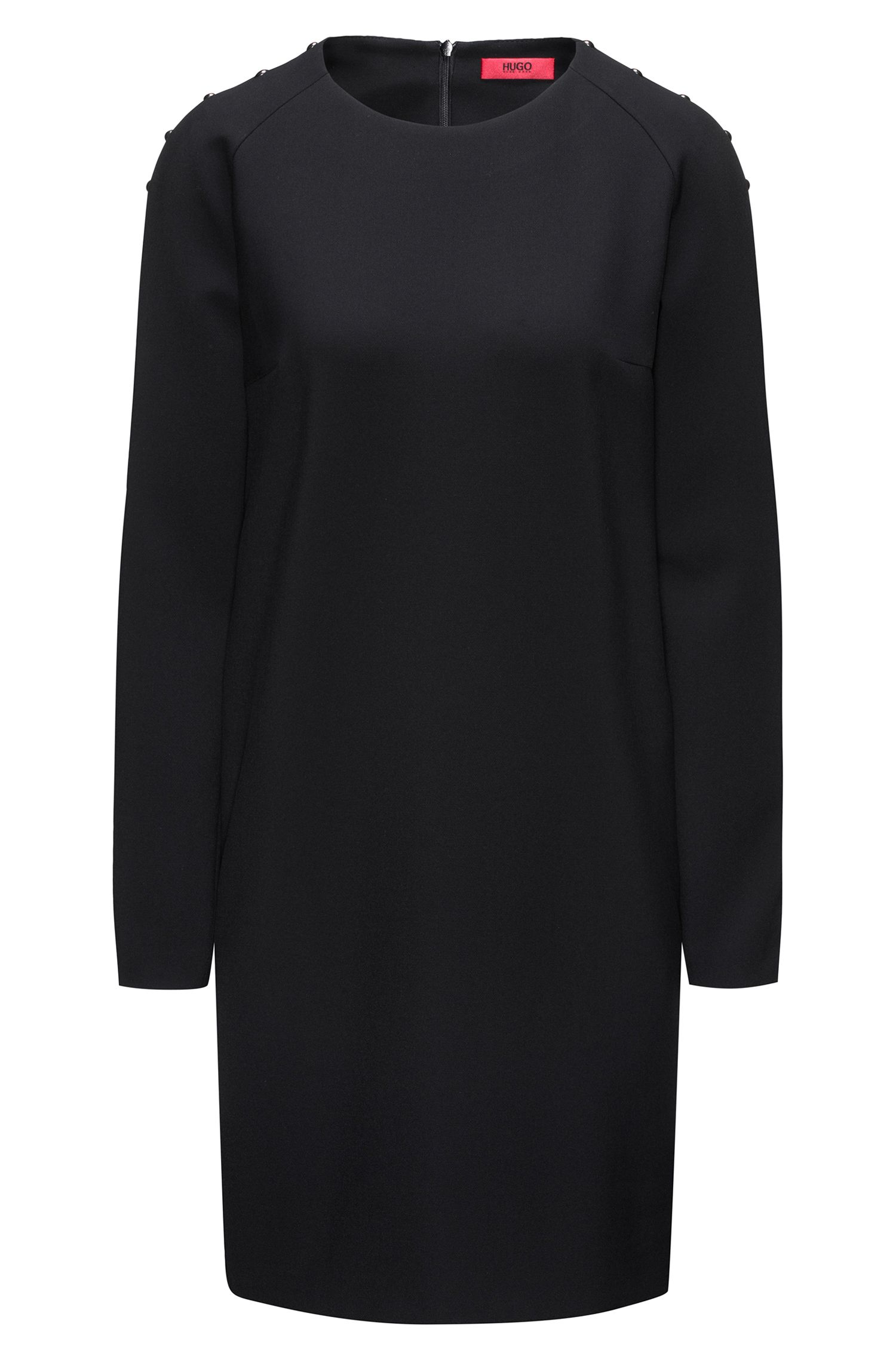 Long-sleeved dress with embellishments HUGO BOSS