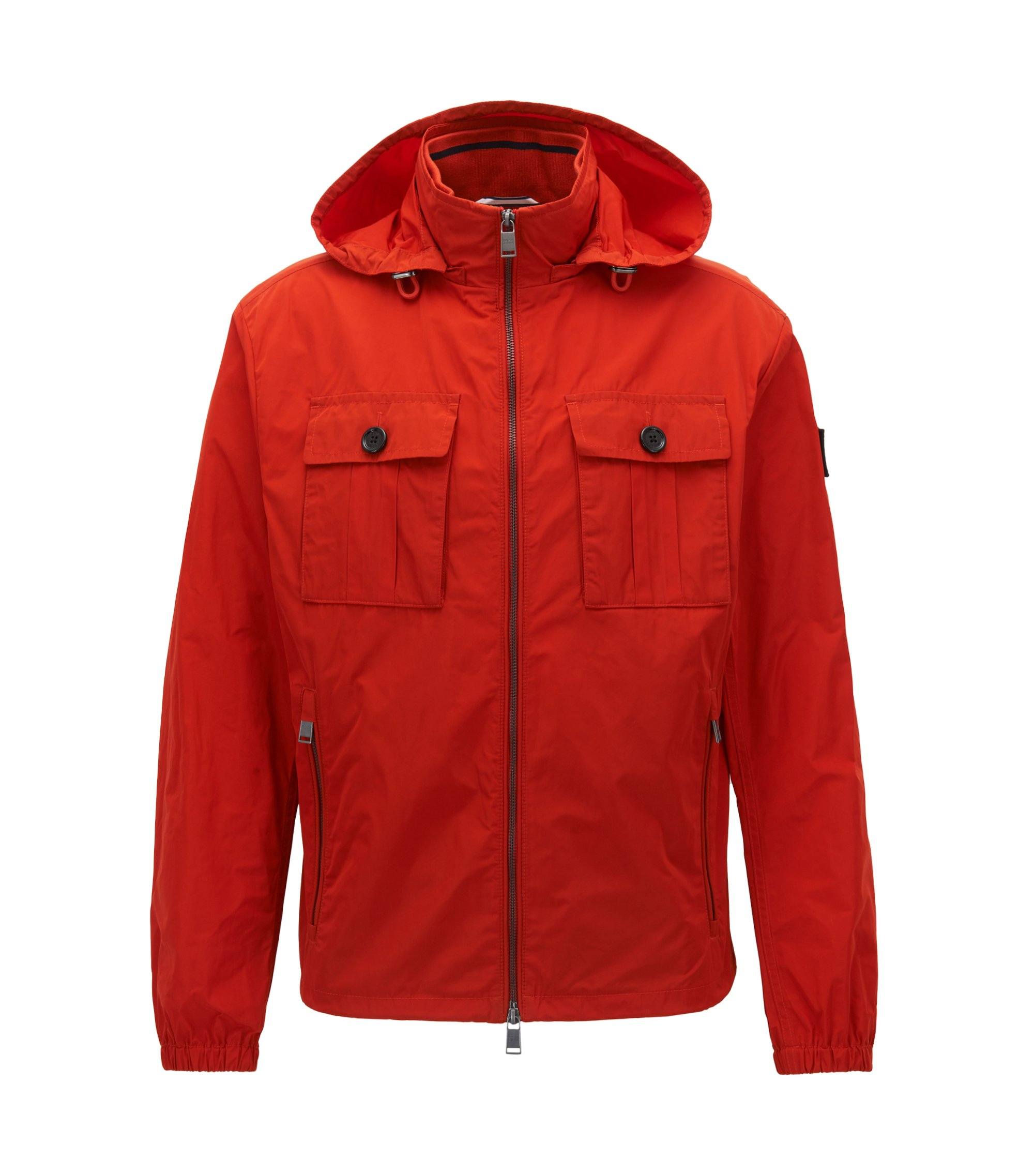 Water-Repellent Wind Breaker | Cash, Dark Orange