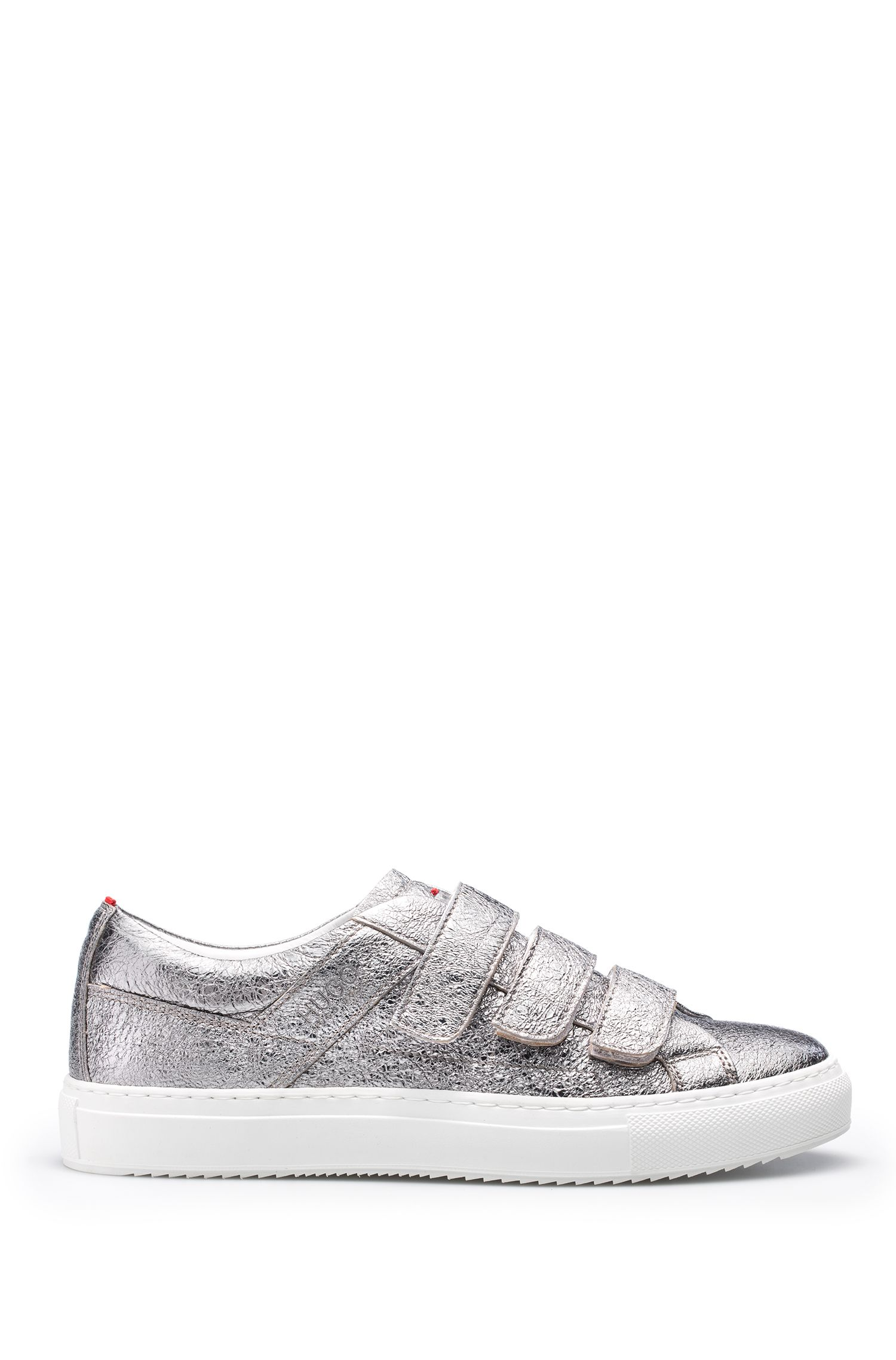 Metallic Leather Sneakers | Camden Strap L