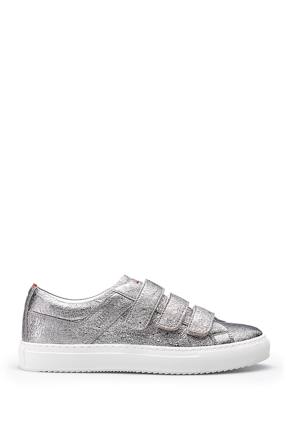 HUGO BOSS Hugo Boss Metallic Leather Sneakers Camden Strap L 6 Patterned Buy Cheap For Sale Sale Wholesale Price Perfect Sale Online Cheap Visa Payment lMY5z