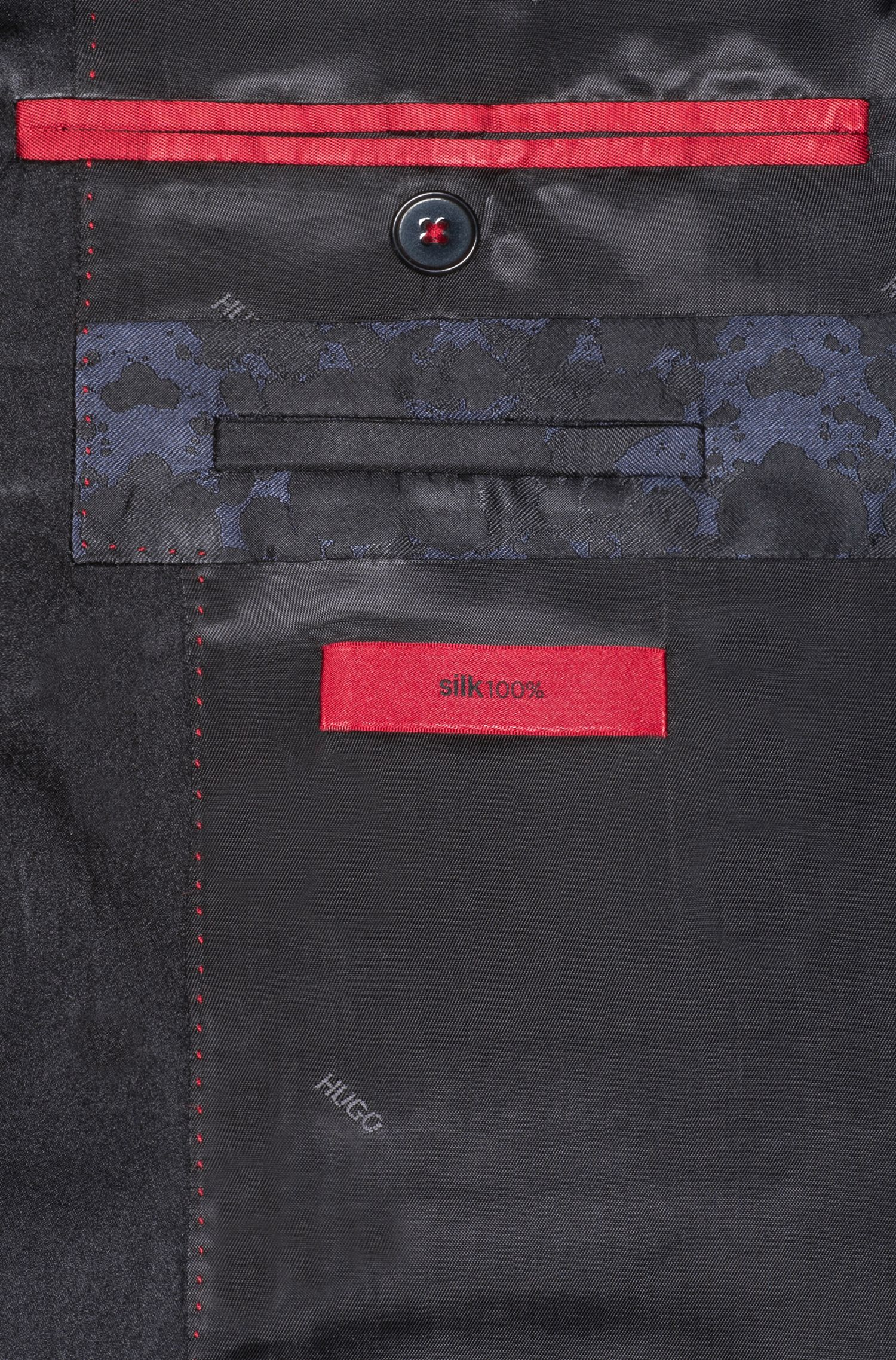 Rorschach Silk Sport Coat, Extra Slim Fit | Artins, Patterned