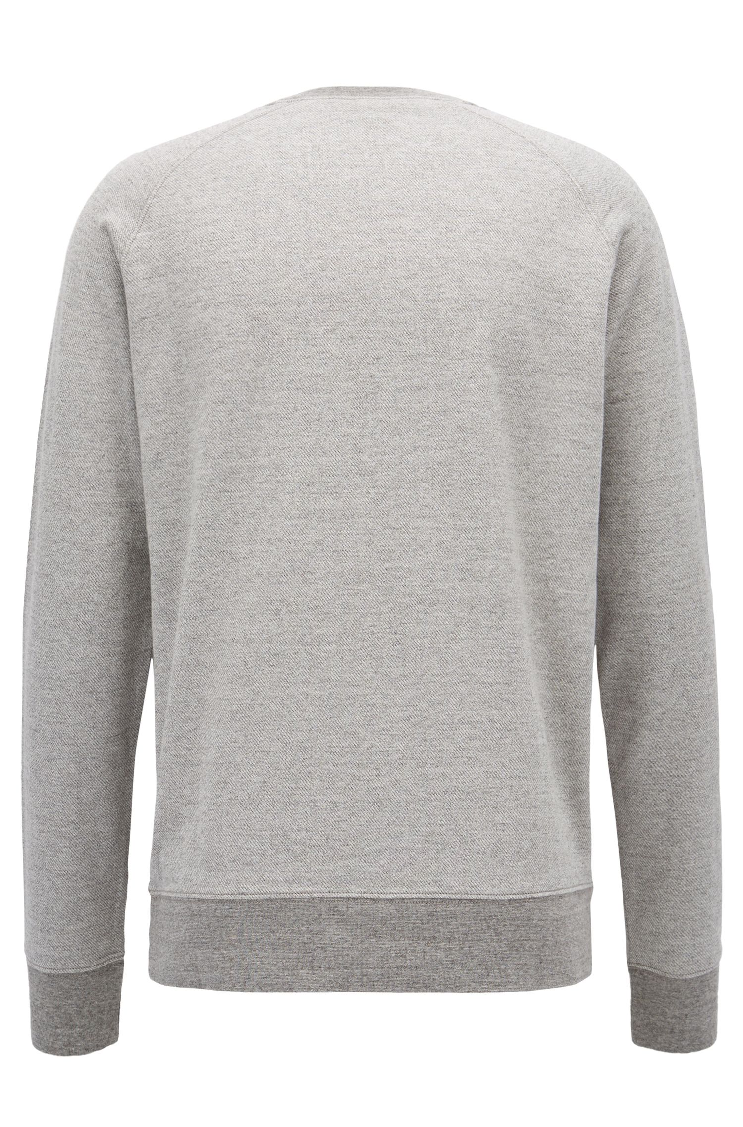 Appliqué Cotton Sweatshirt | Wildlife
