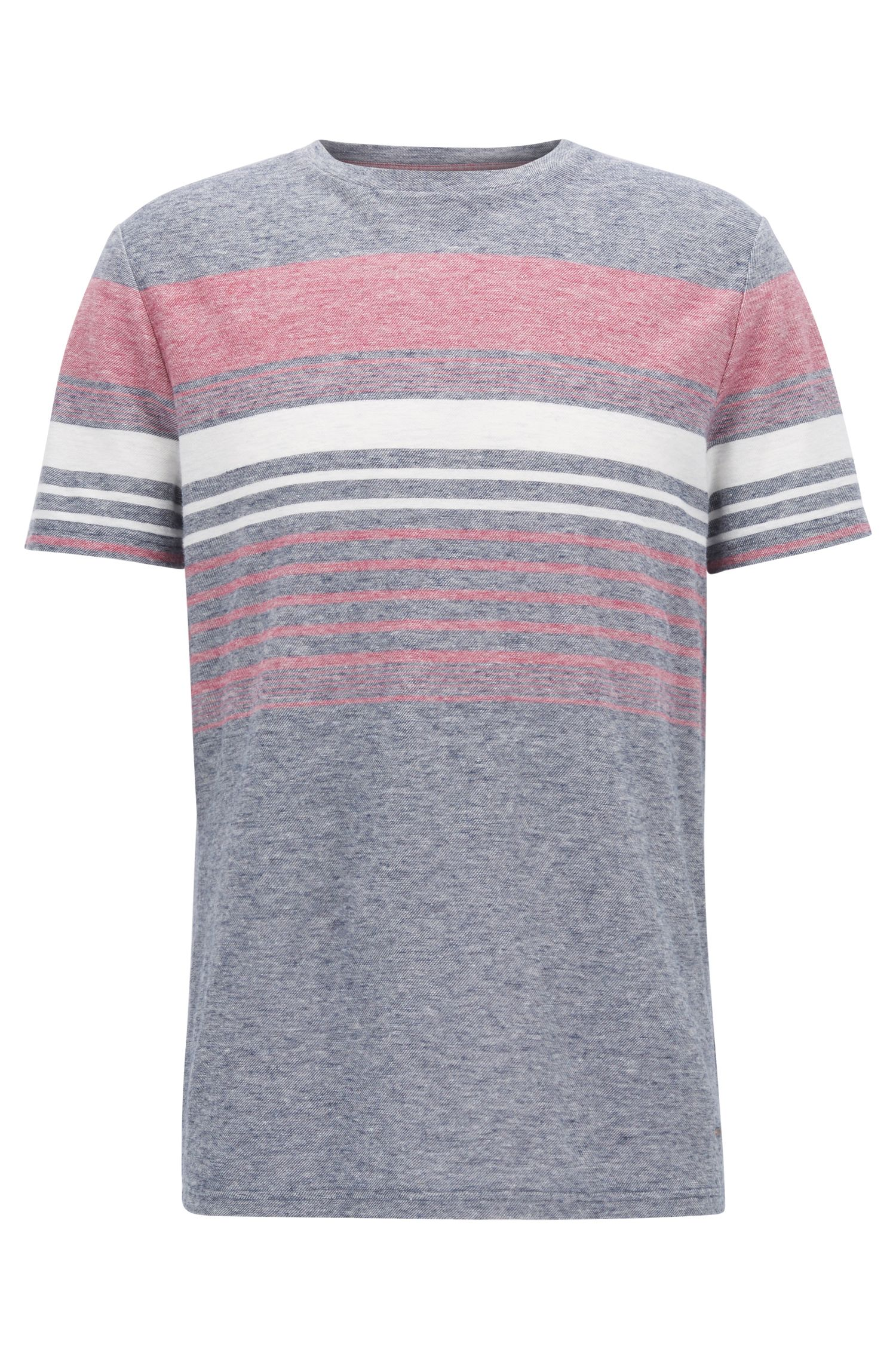 Cotton Linen T-Shirt | Tilak