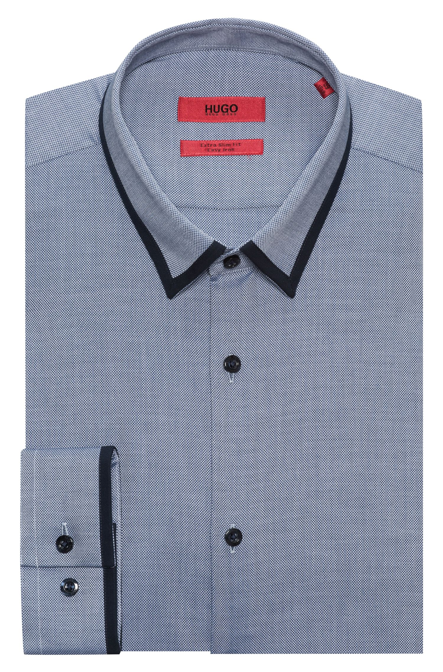 Easy Iron Cotton Dress Shirt , Extra Slim Fit | Emichele