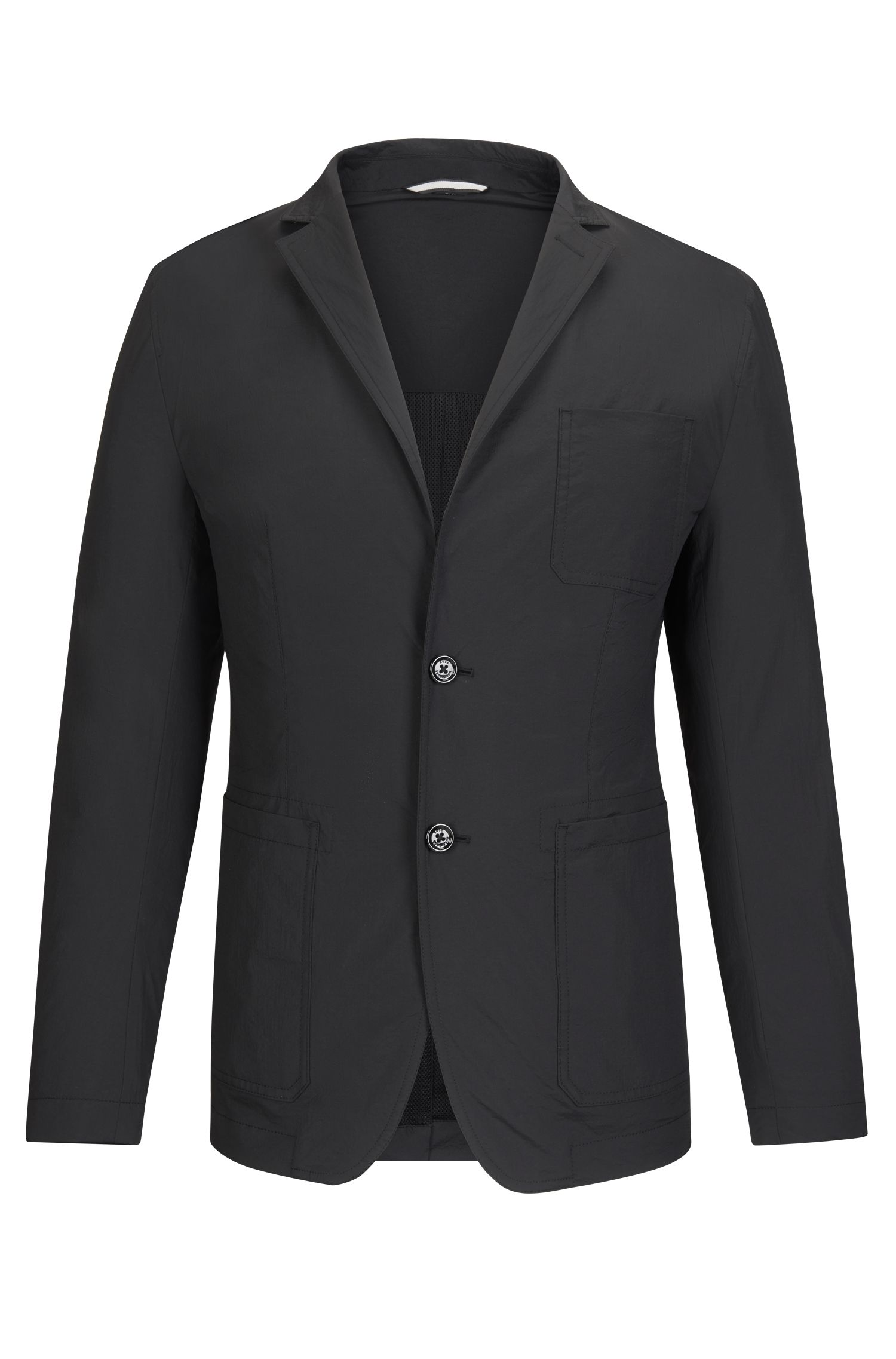 Nylon Sport Coat, Slim Fit | Noas