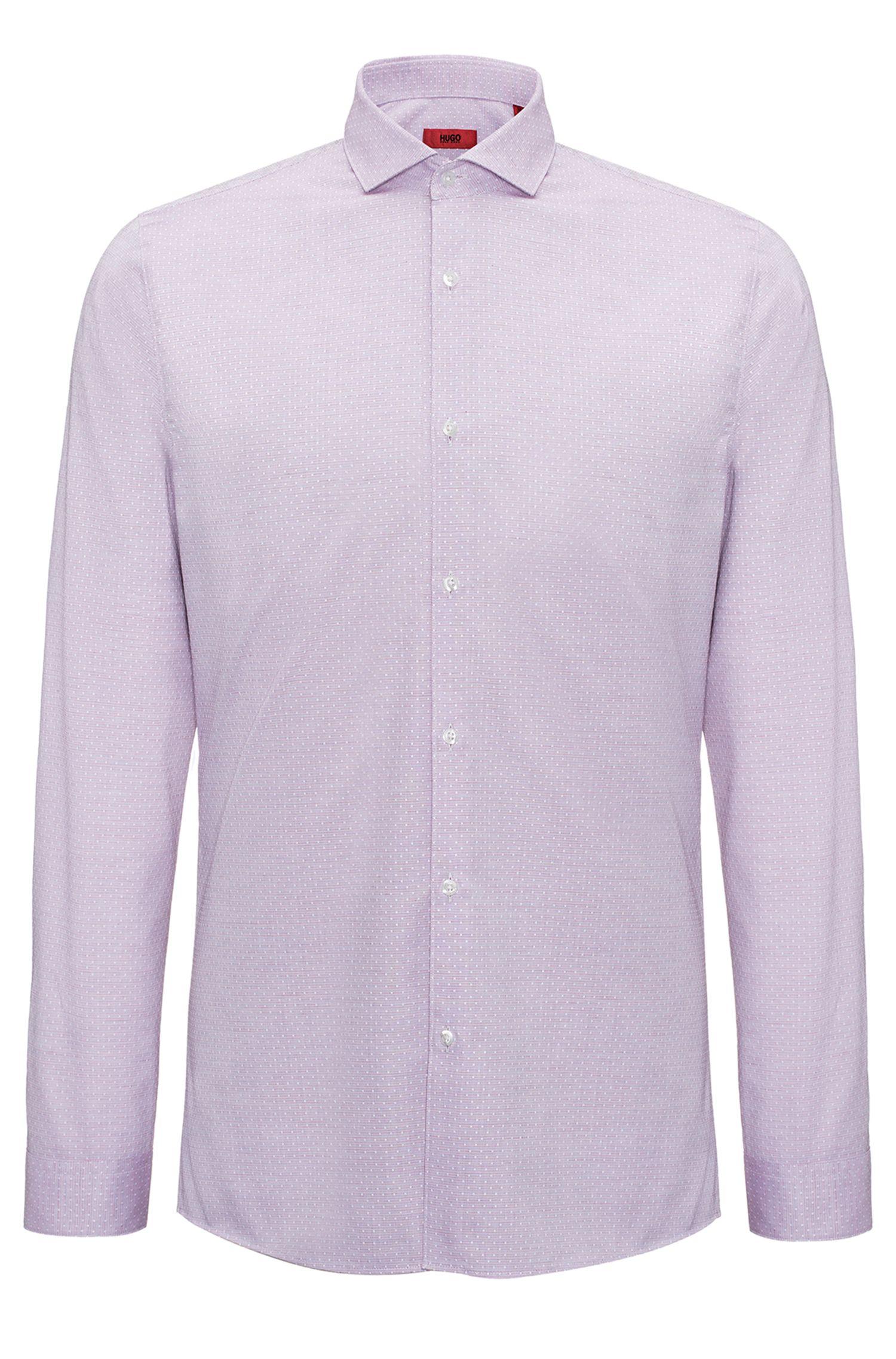 Patterned Dress Shirt, Extra Slim Fit | Erriko, Red