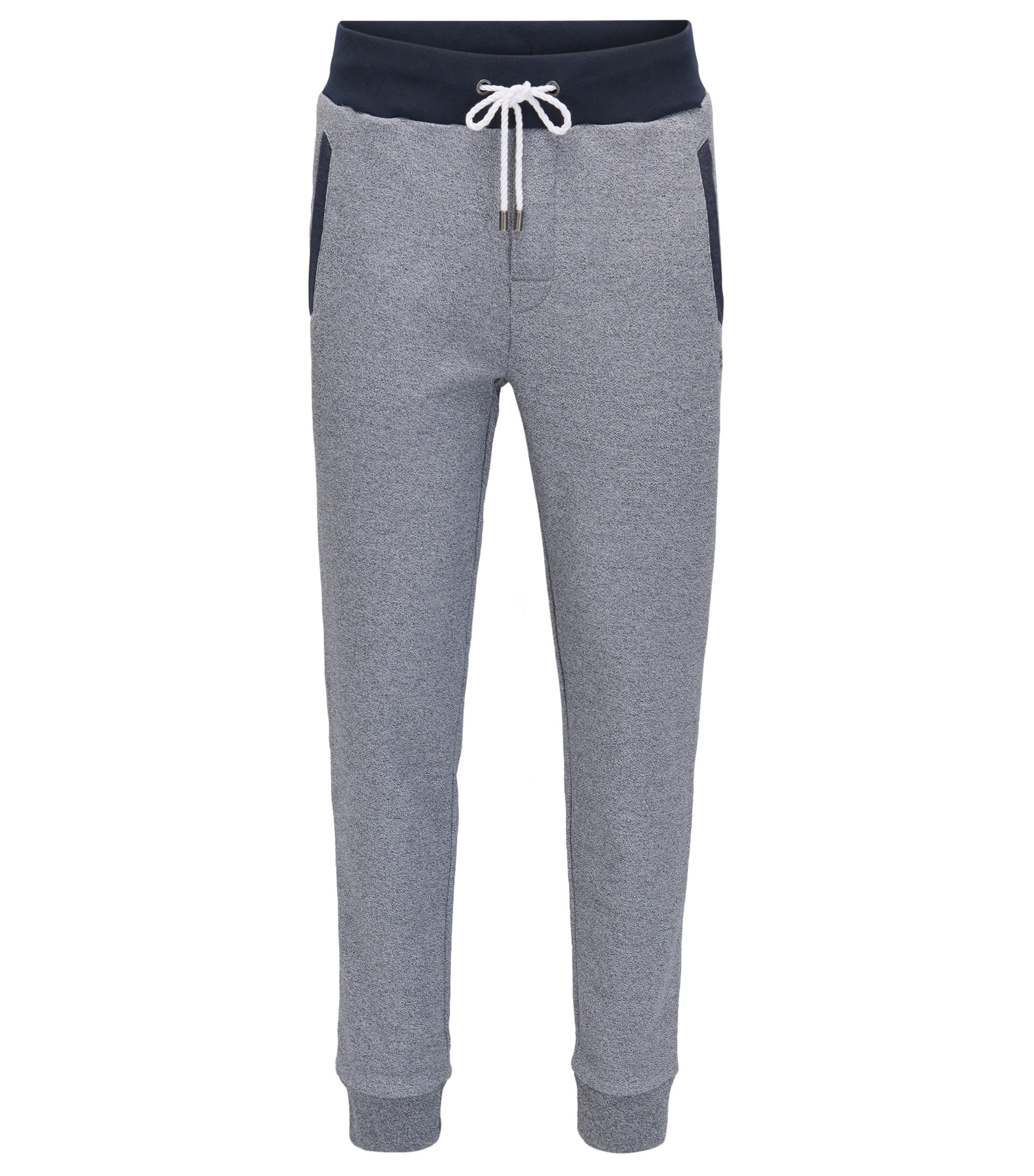 Melange French Terry Sweatpant | Nautical Pants, Grey