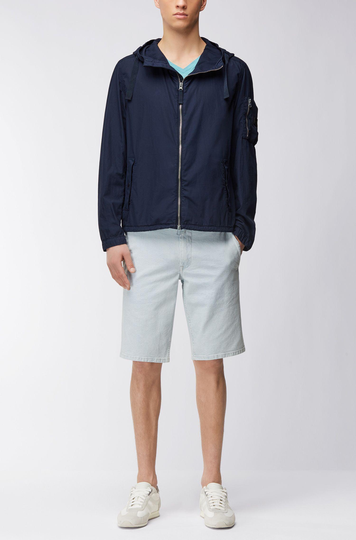 Brushed Cotton Jacket | Olvaro D