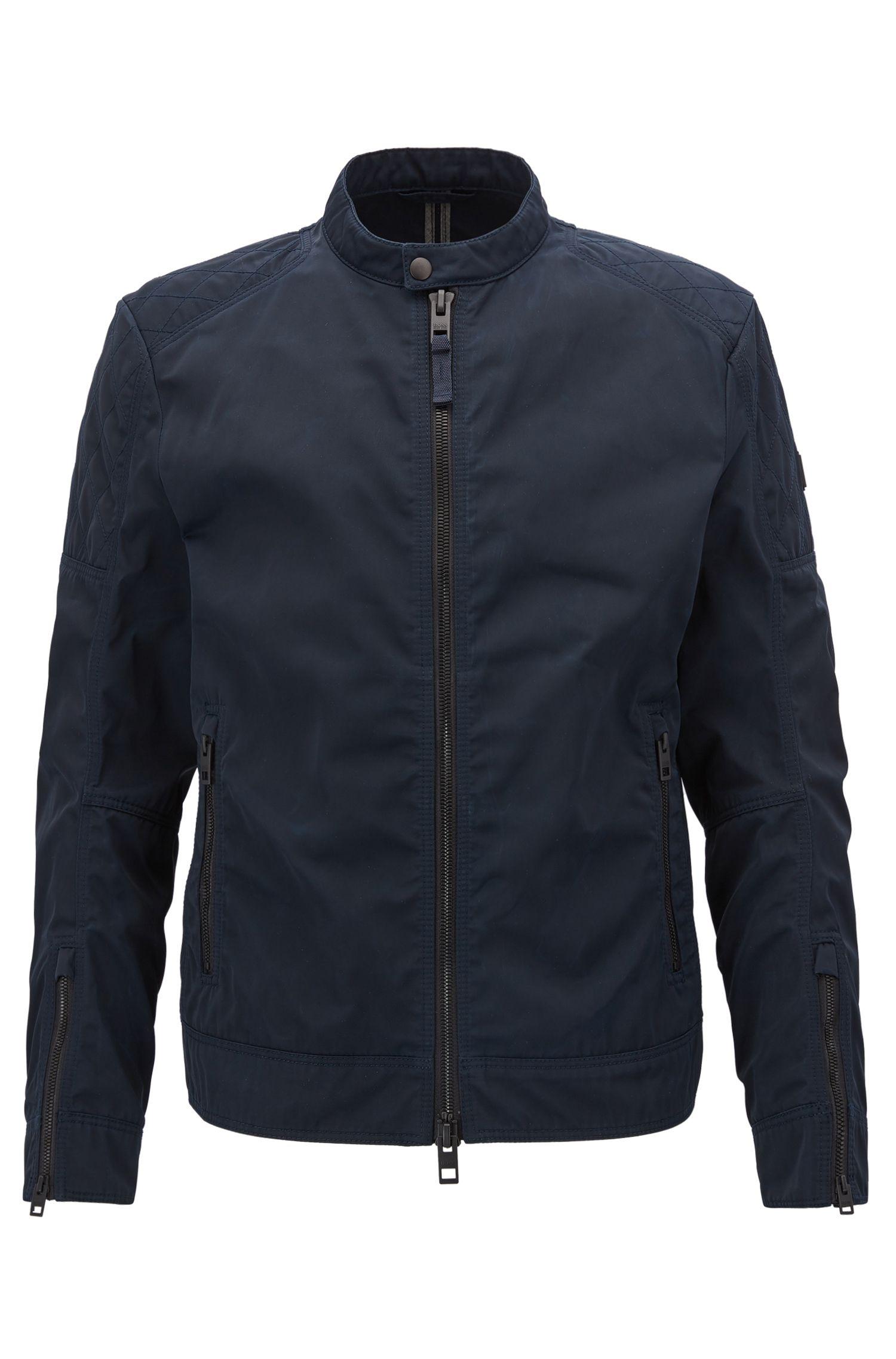 Waxed Twill Jacket | Ojeeno W