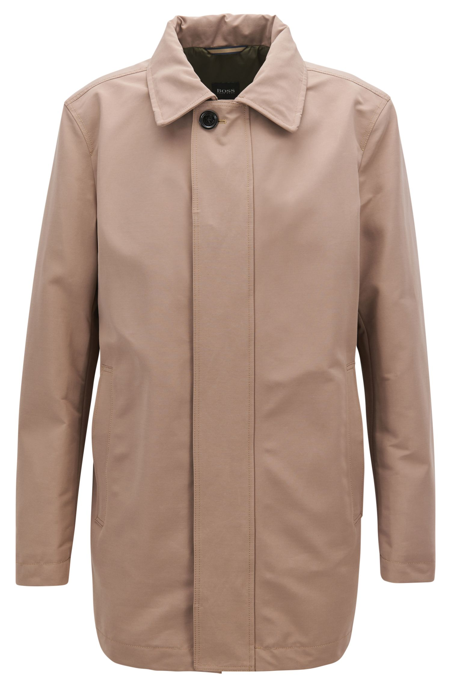 Classic Water Repellent Car Coat | 'Cider'