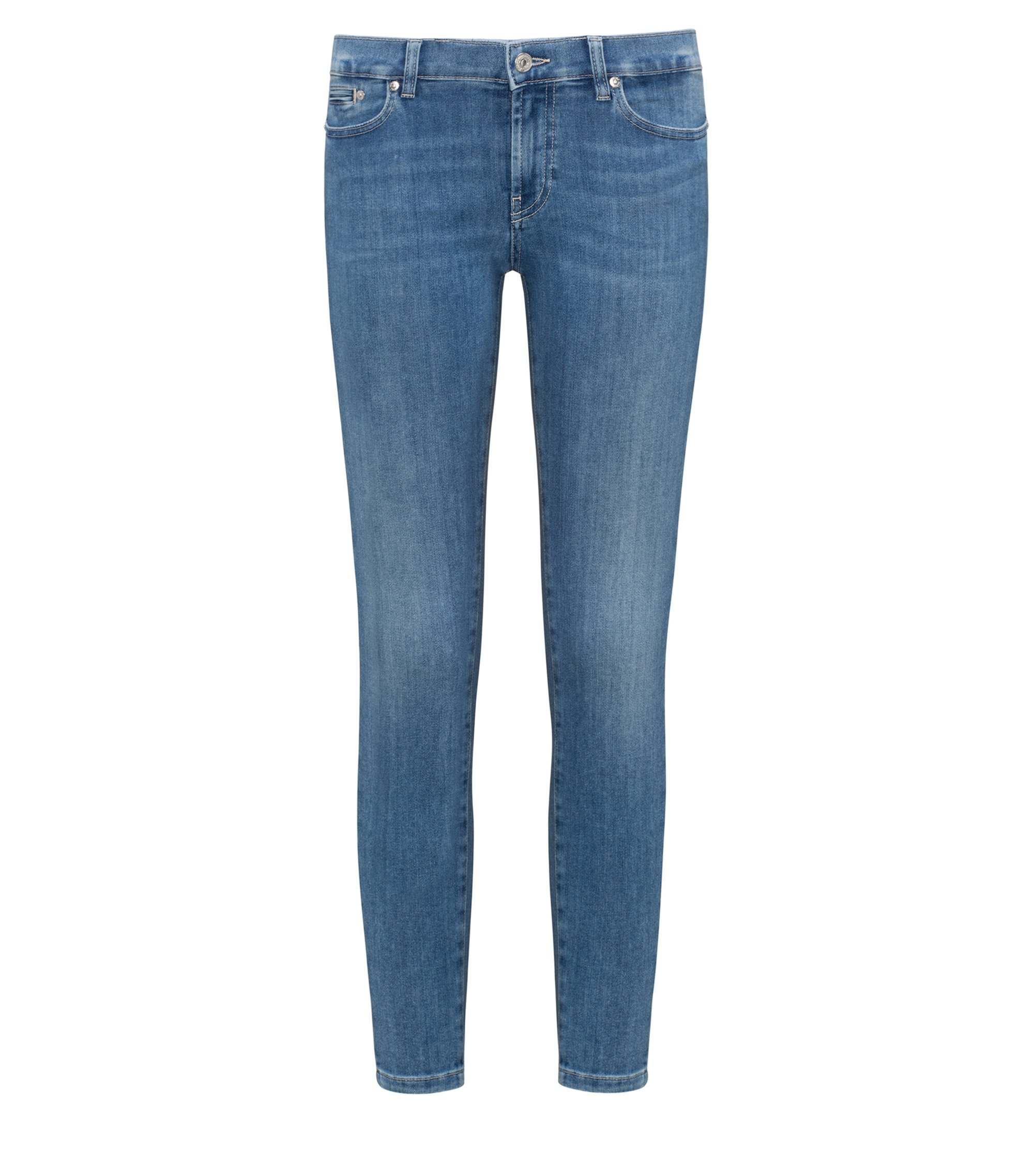 Stretch Cotton Jean, Skinny Fit | Gilljana, Light Blue