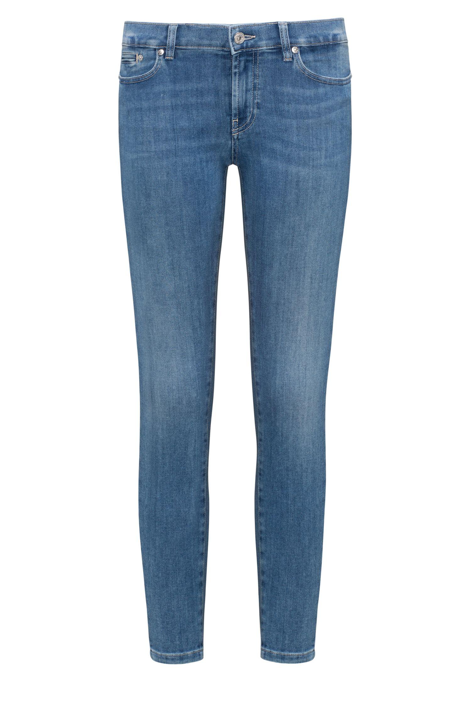Stretch Cotton Jean, Skinny Fit | Gilljana