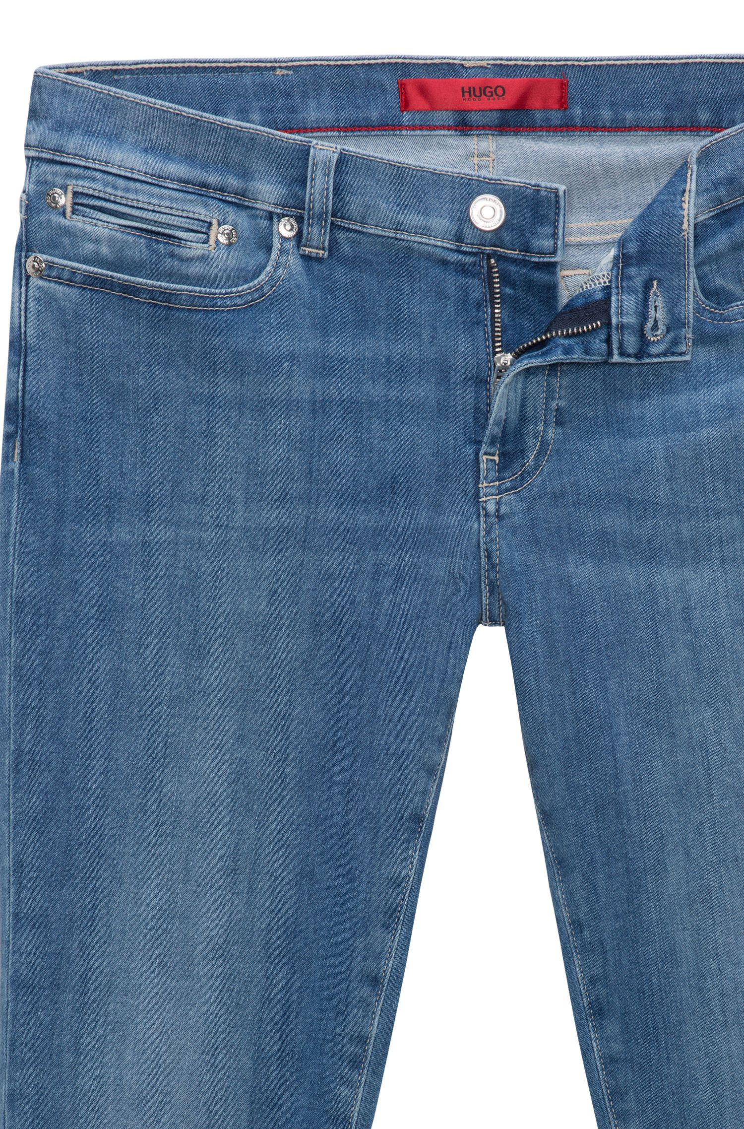 Stretch Cotton Jean, Skinny Fit | Gilljana