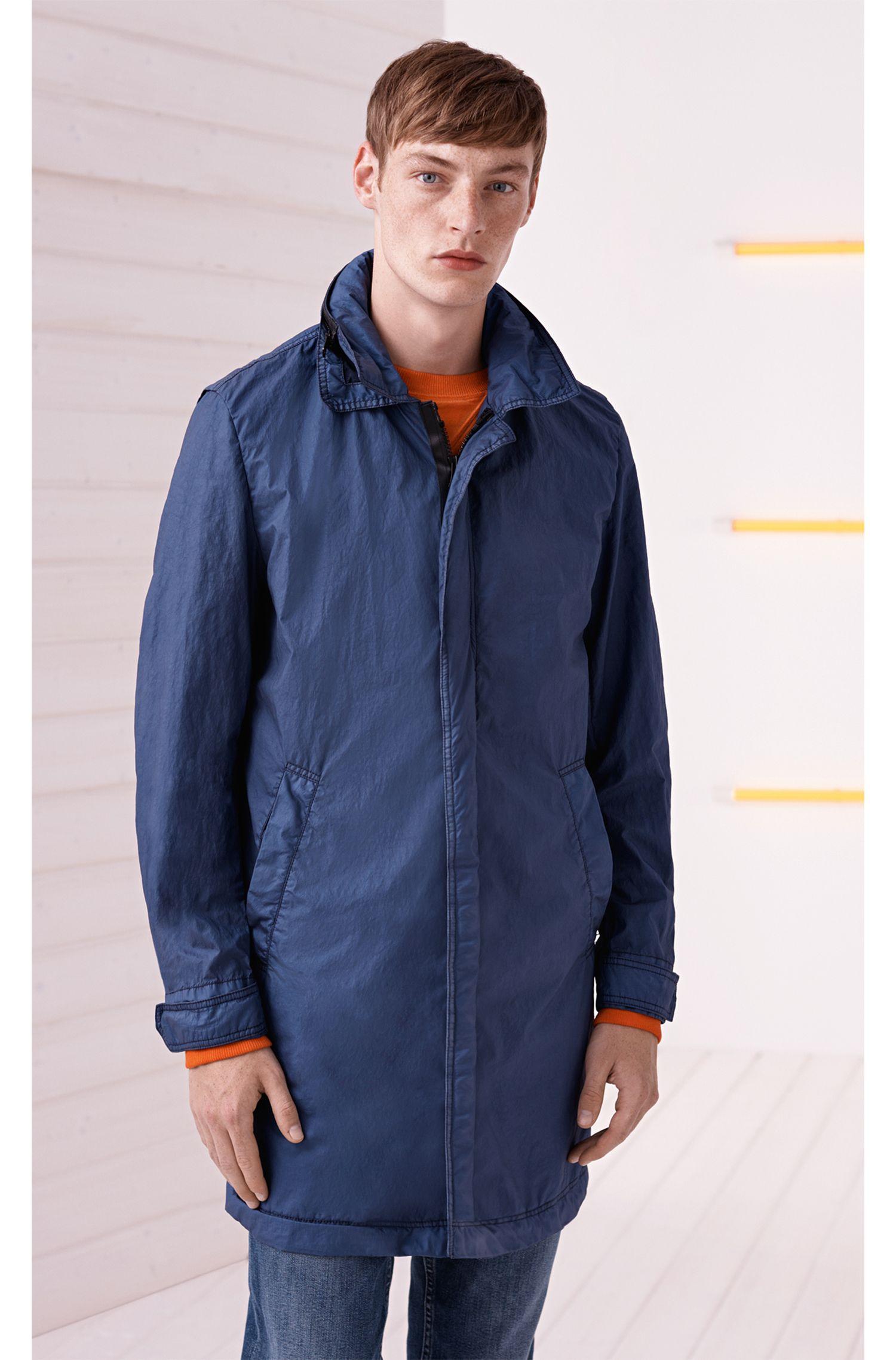 Stretch Cotton Jean, Slim Fit | Orange Helsinki-C , Blue