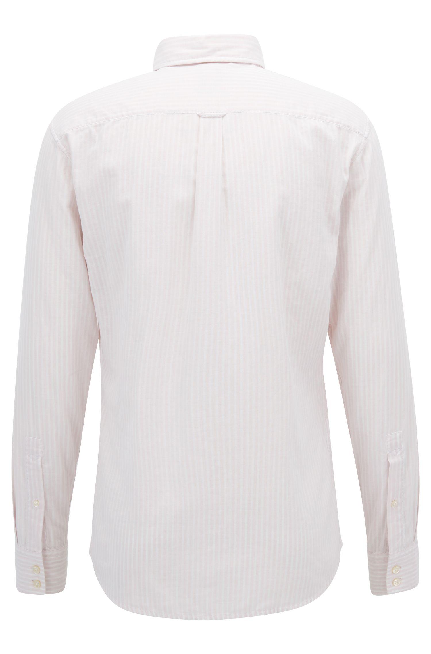 Cotton Sport Shirt, Slim Fit | Epreppy