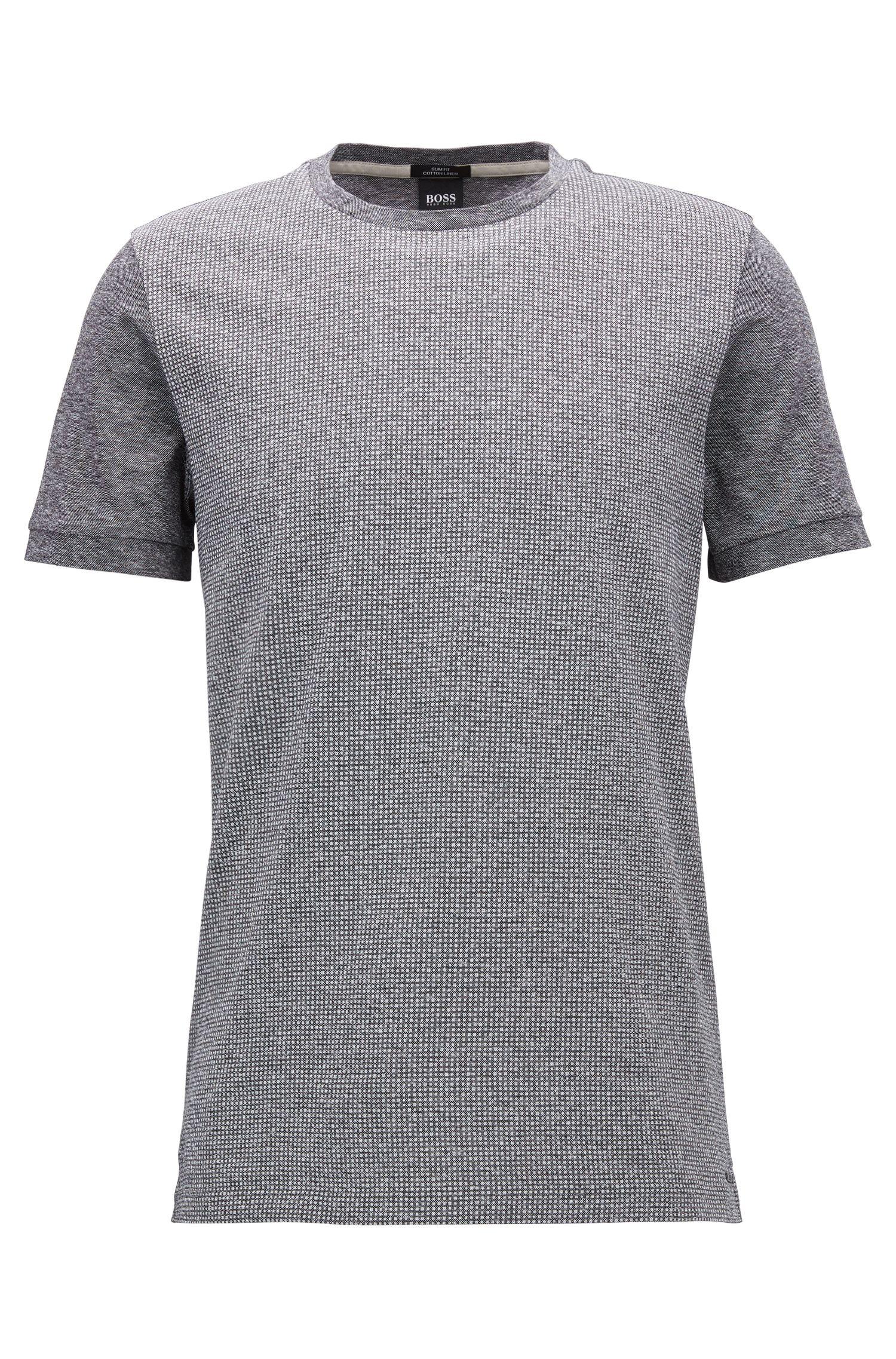 Cotton Linen T-Shirt | Tessler