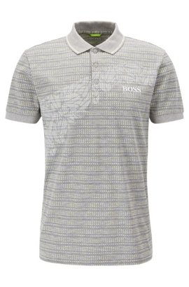 BOSS CASUAL PRIME SLIIM FIT - Polo - light grey 0bM8AP6