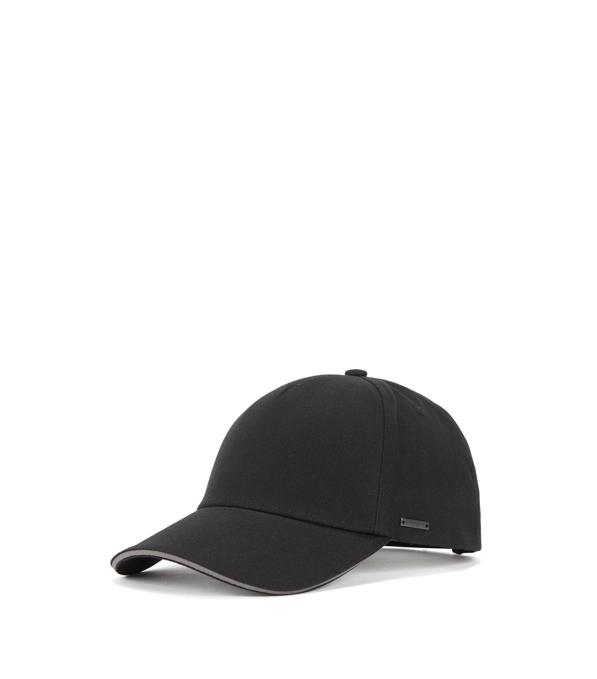 Cotton Baseball Cap | Serios, Black