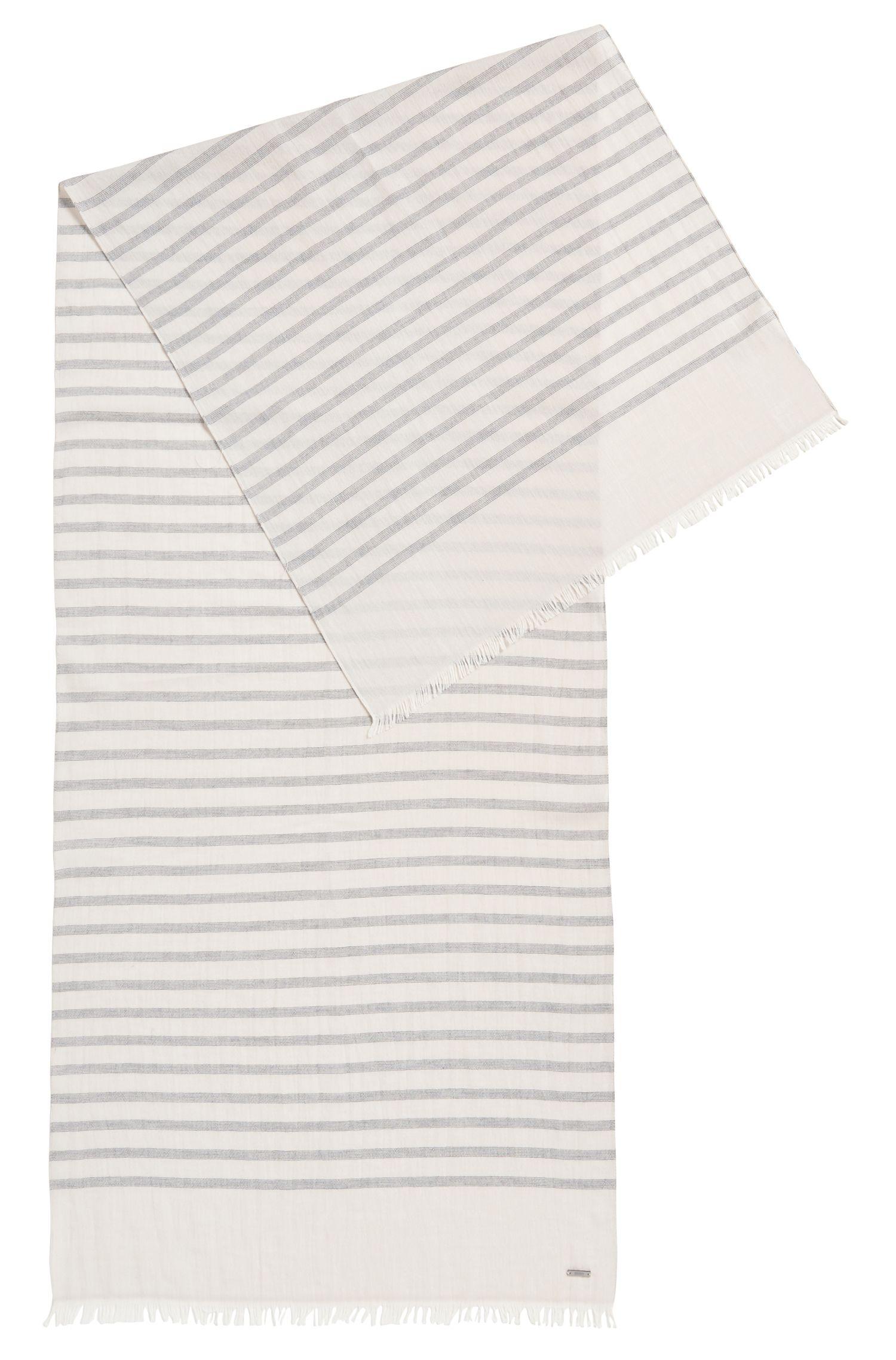 Striped Cotton Scarf | Salo WS