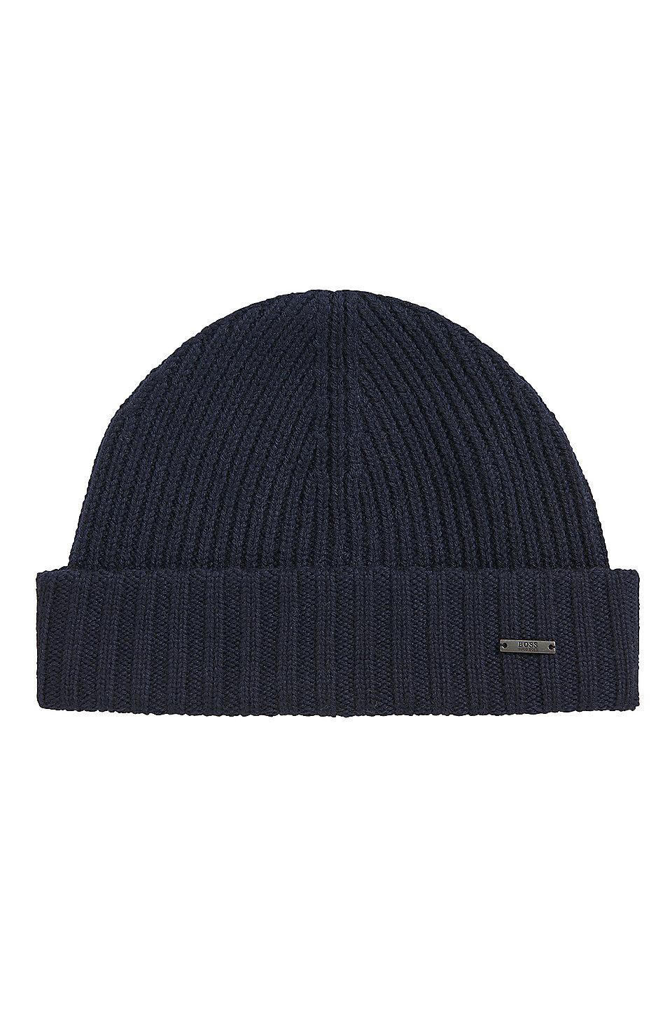 BOSS - Virgin Wool Beanie  670fe482d364