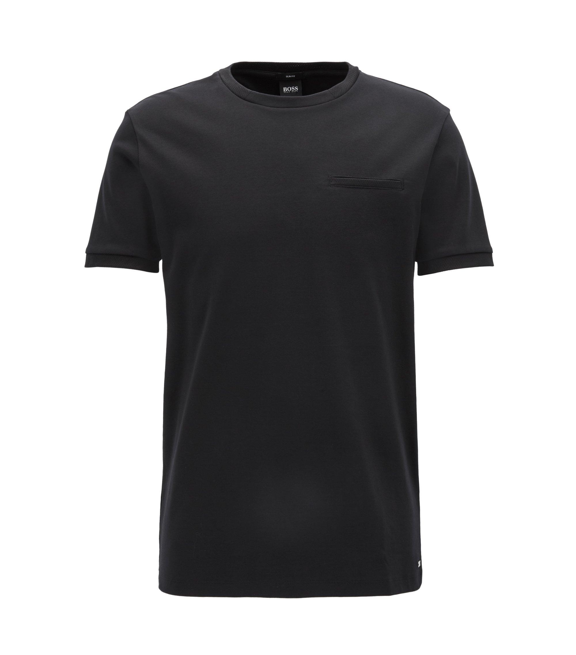 Mercedes-Benz Cotton Interlock T-Shirt   Tessler, Black