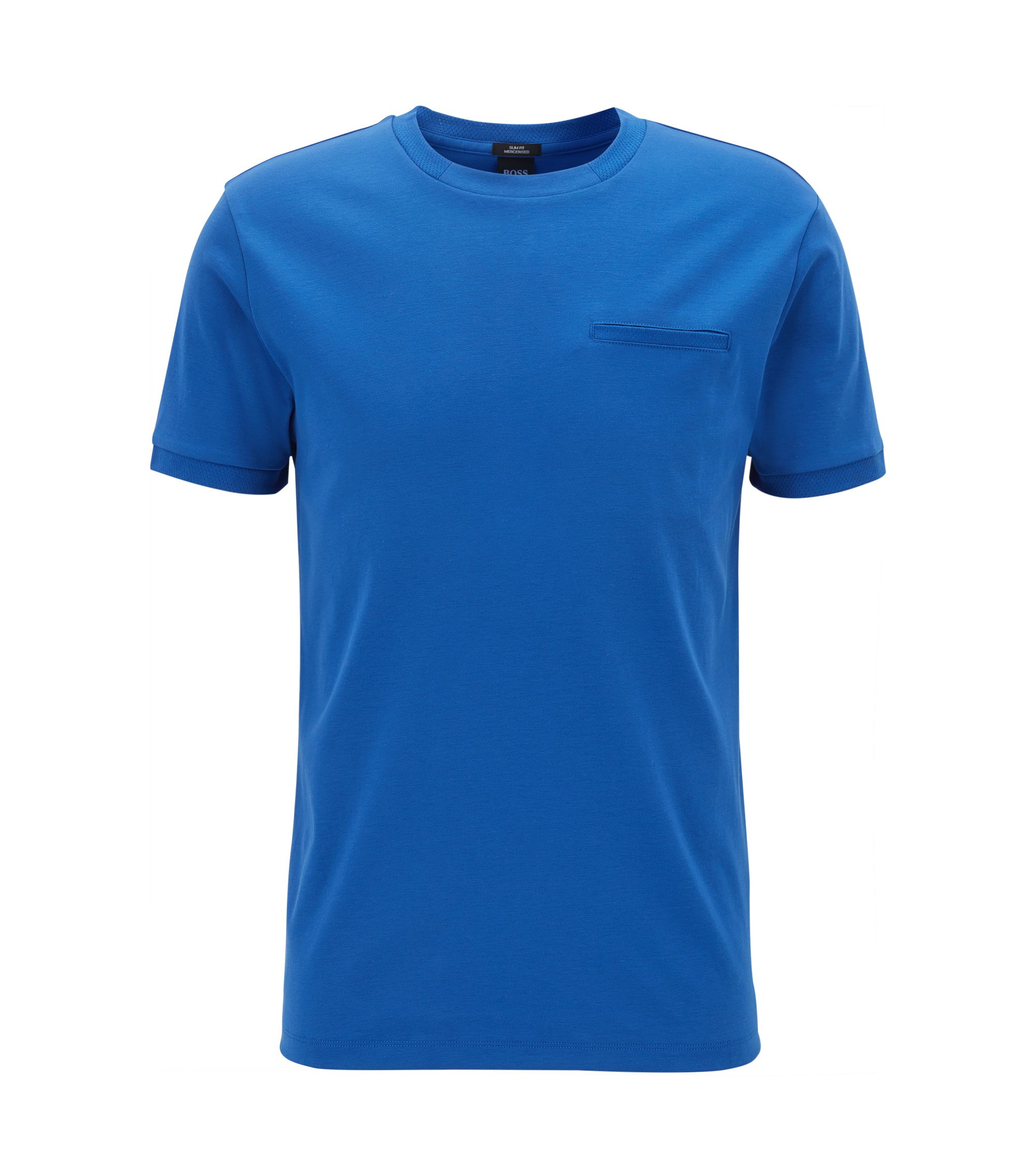Mercedes-Benz Cotton Interlock T-Shirt | Tessler, Blue