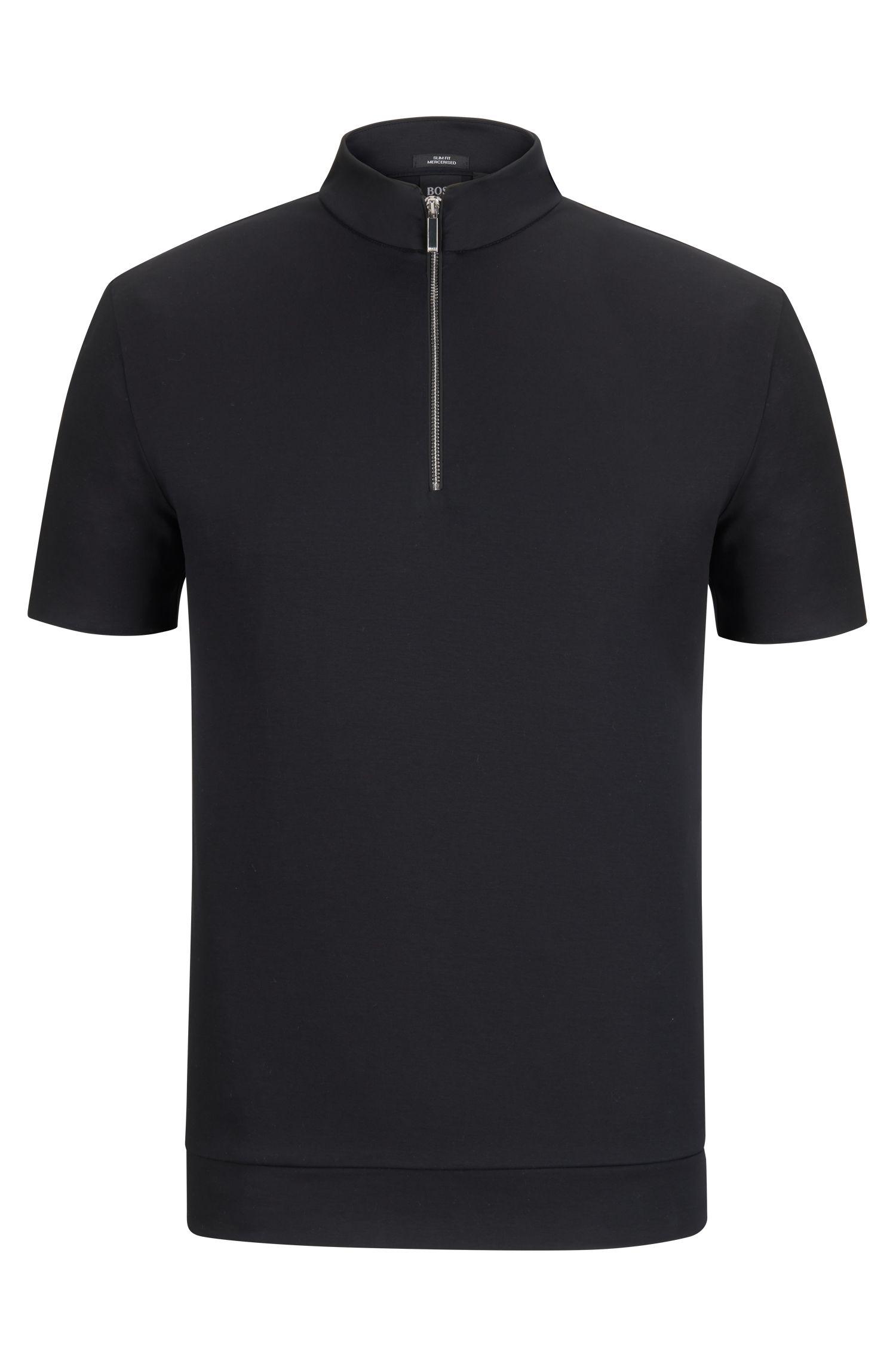 Mercedes-Benz Mercerized Cotton Polo Shirt, Slim Fit | Pallardi