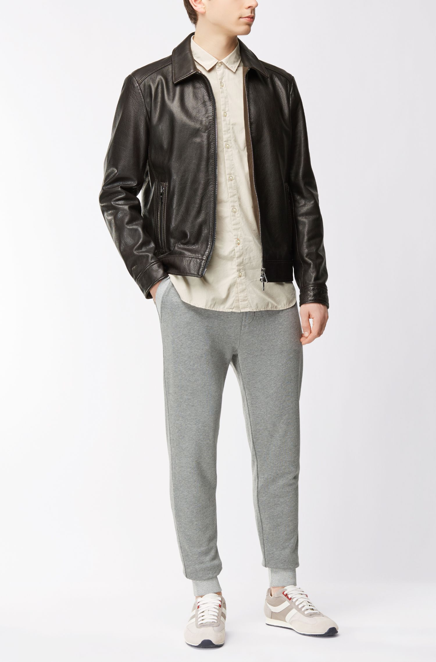 Leather Jacket | Juba, Dark Brown