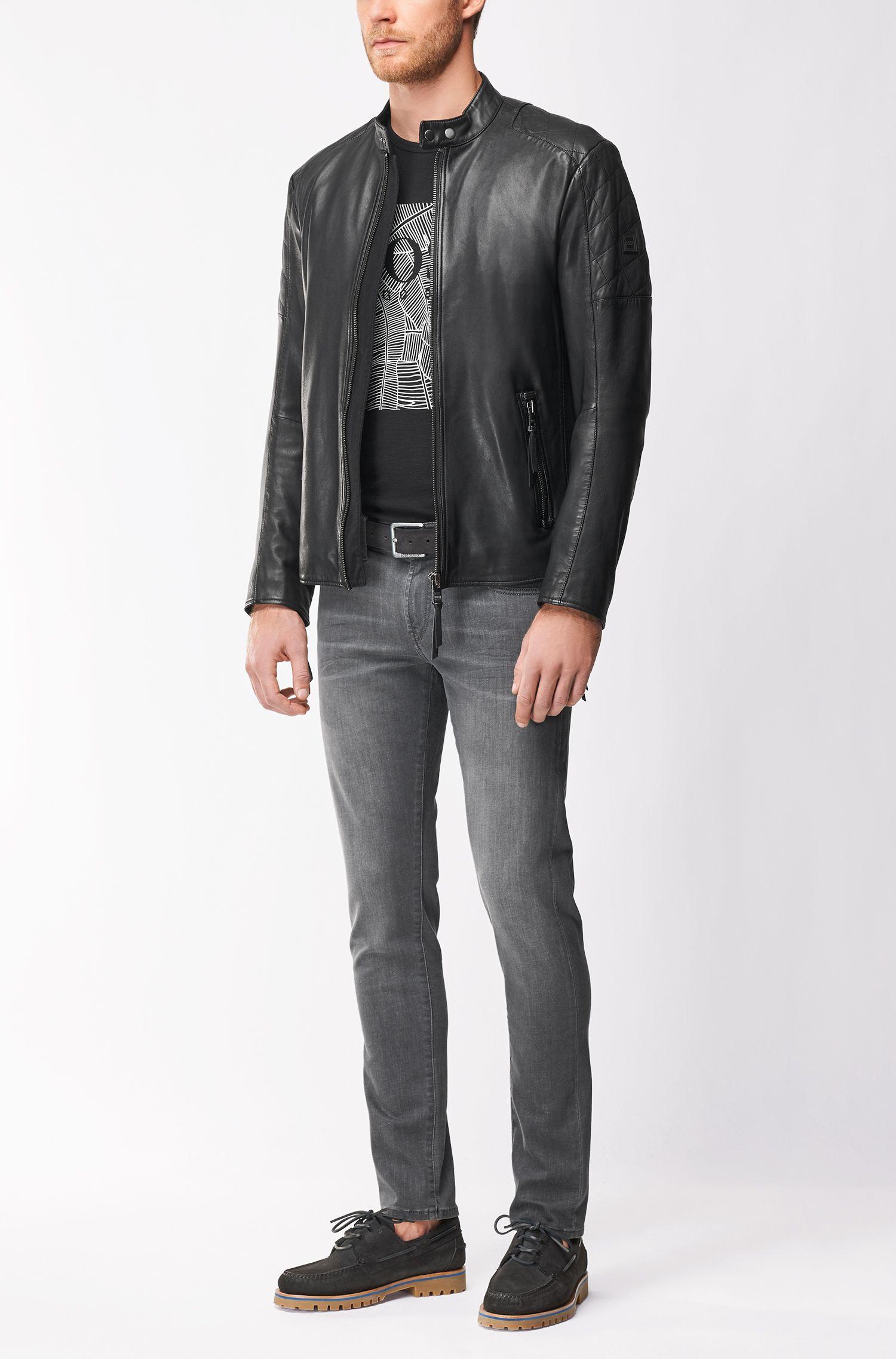 Sheepskin Leather Jacket | Jeepo