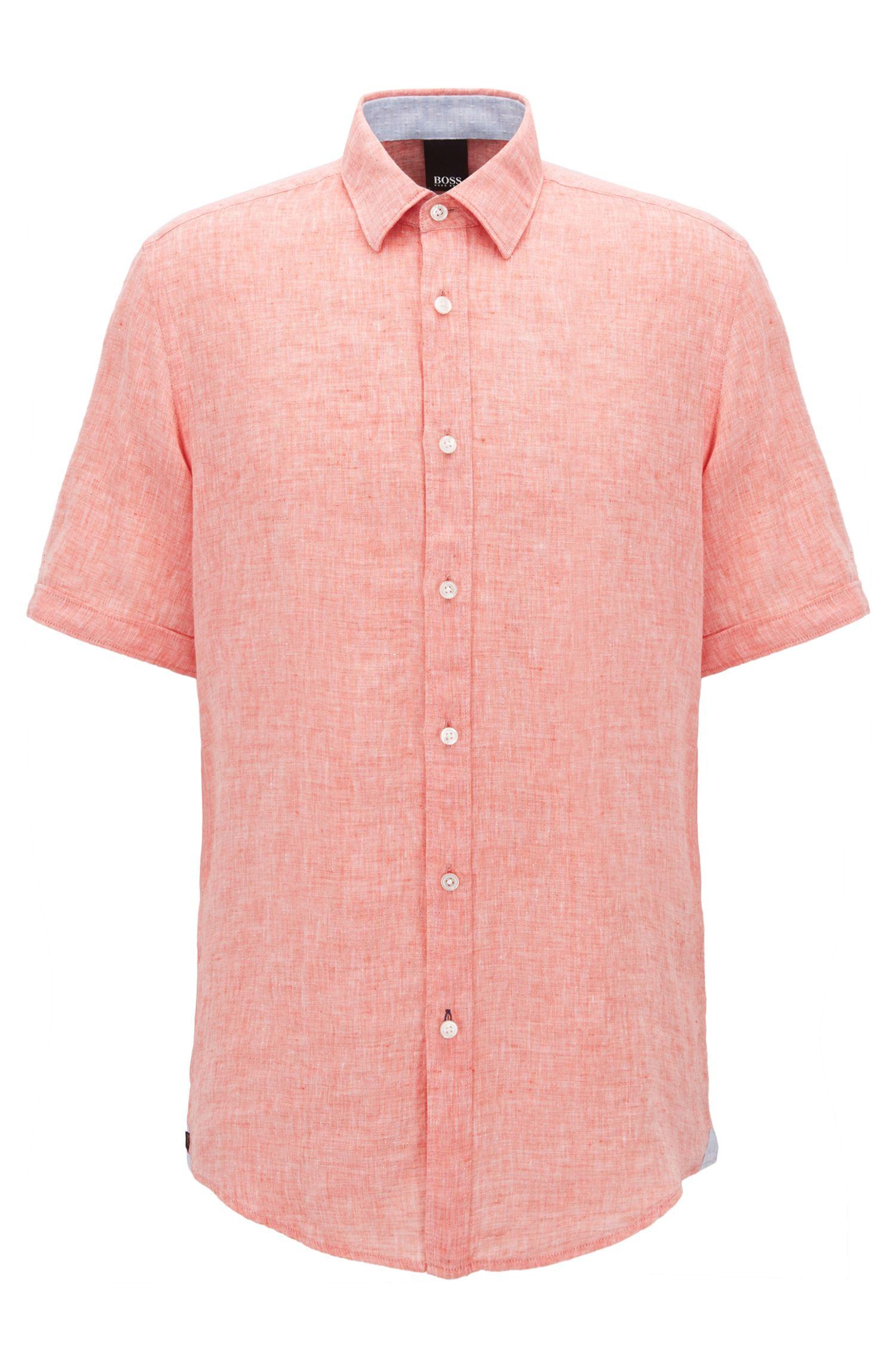 Linen Sport Shirt, Regular Fit | Luka
