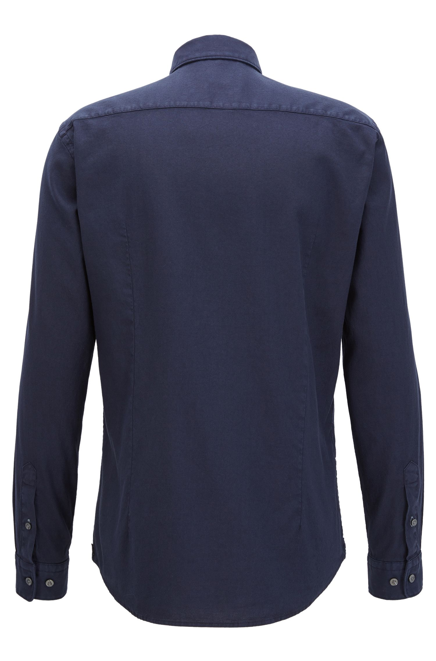 Stretch Cotton Sport Shirt, Slim Fit | Ridley