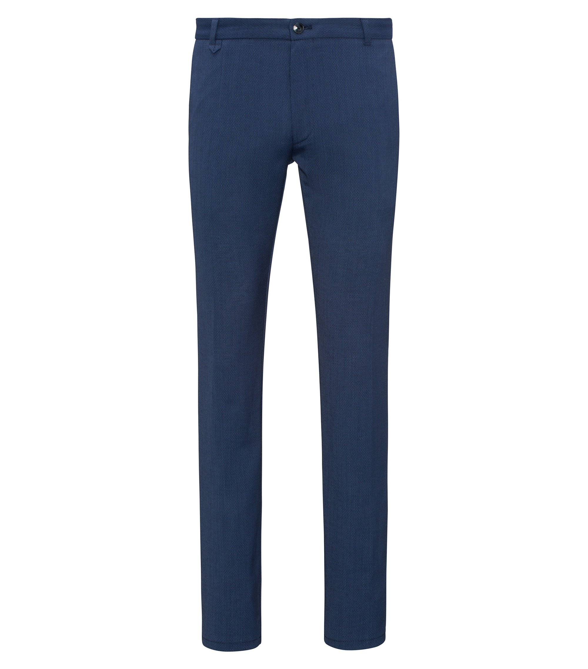 Wool Blend Pant, Extra Slim Fit | Heldor, Open Blue