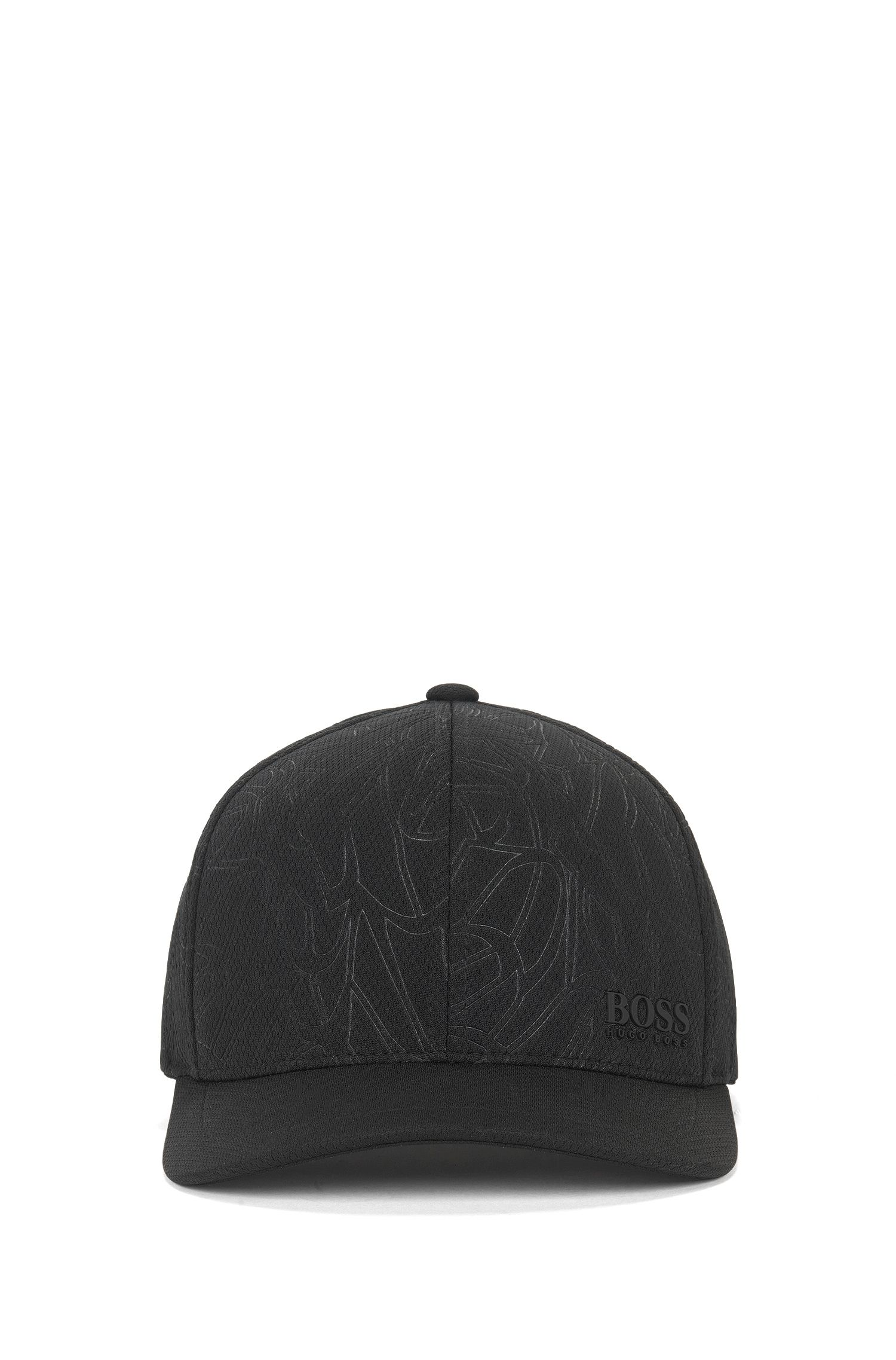 Honeycomb Woven Baseball Cap | Printcap, Black