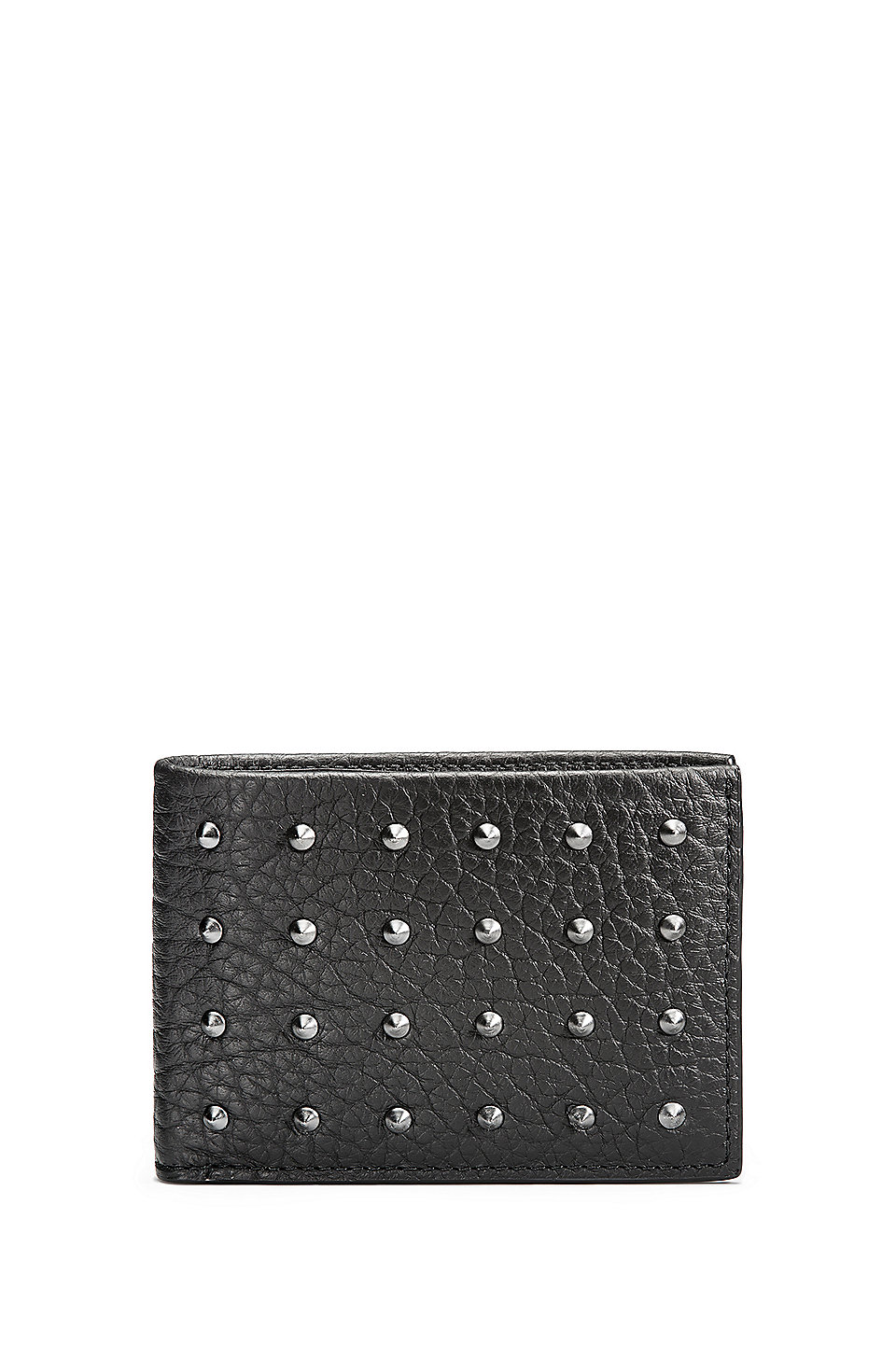 HUGO - Studded Leather Wallet | Victorian S S 6CC