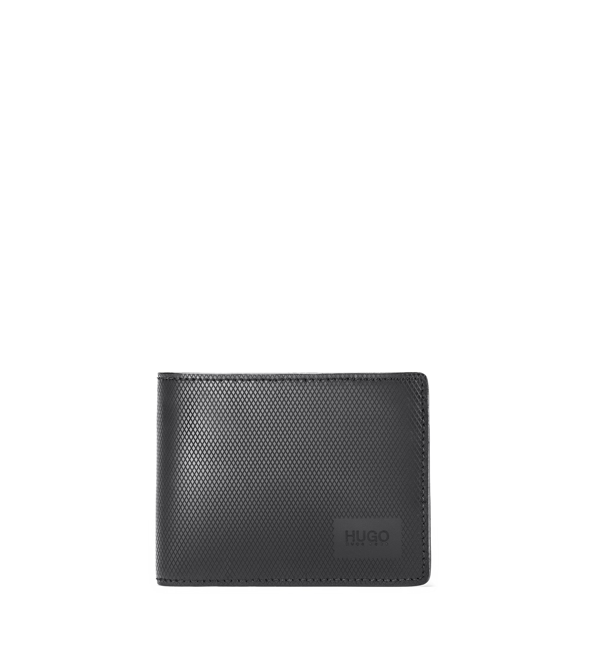 Leather Billfold Wallet | Mercury 6 CC, Black