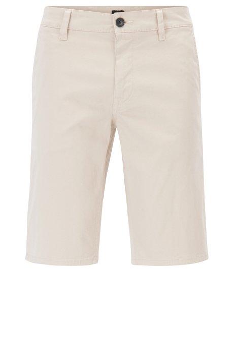 852d4905 BOSS - Stretch Cotton Chino Short, Slim Fit | Schino Slim Shorts D
