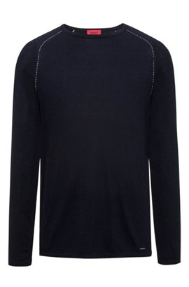 Cheap Very Cheap HUGO BOSS Stretch-cotton Jersey Zip-up Hoodie - Navy Cheap Affordable Factory Outlet Online For Sale Official Site Original Fde7IMeD