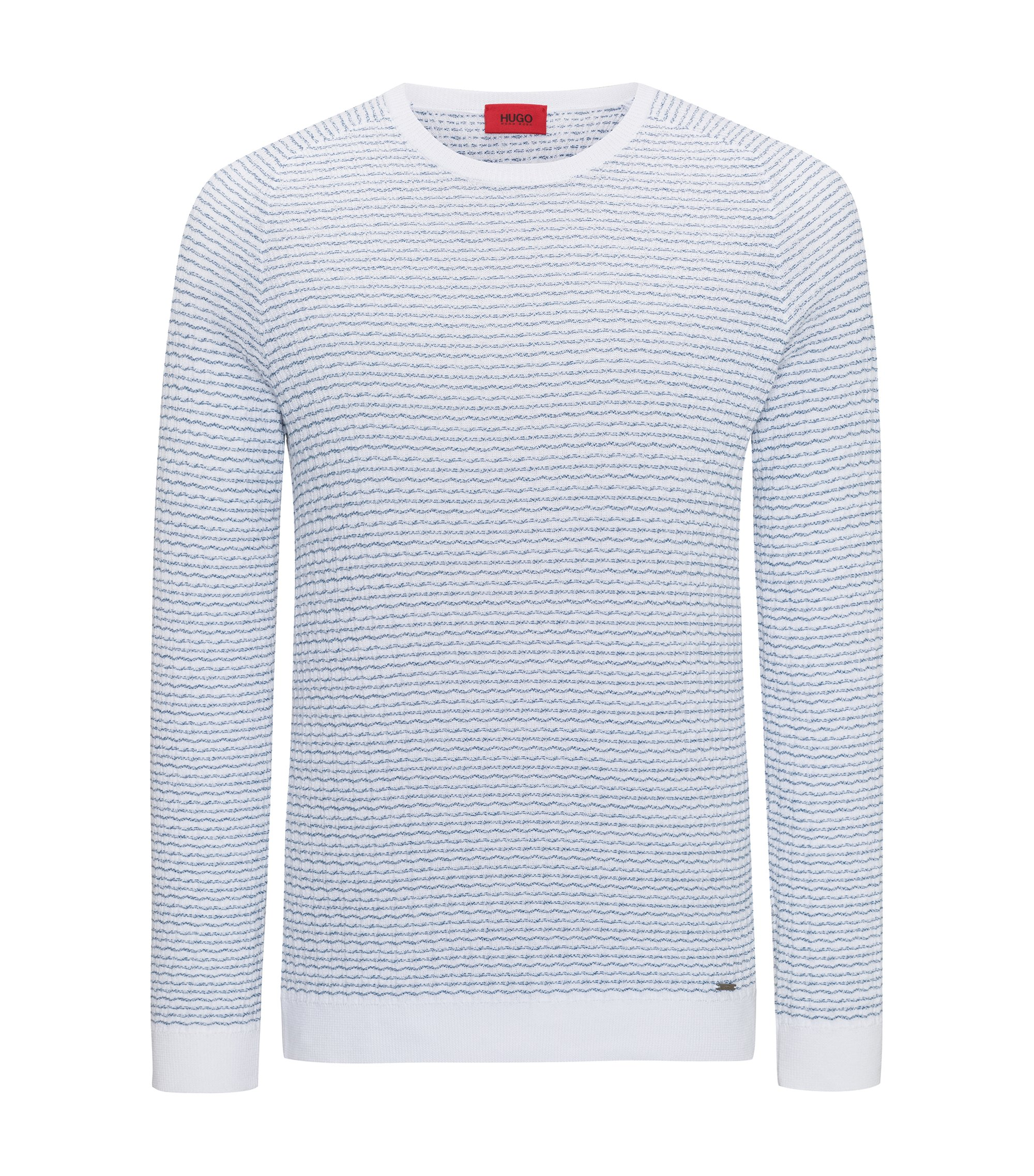 Striped Sweater | Stanon, White