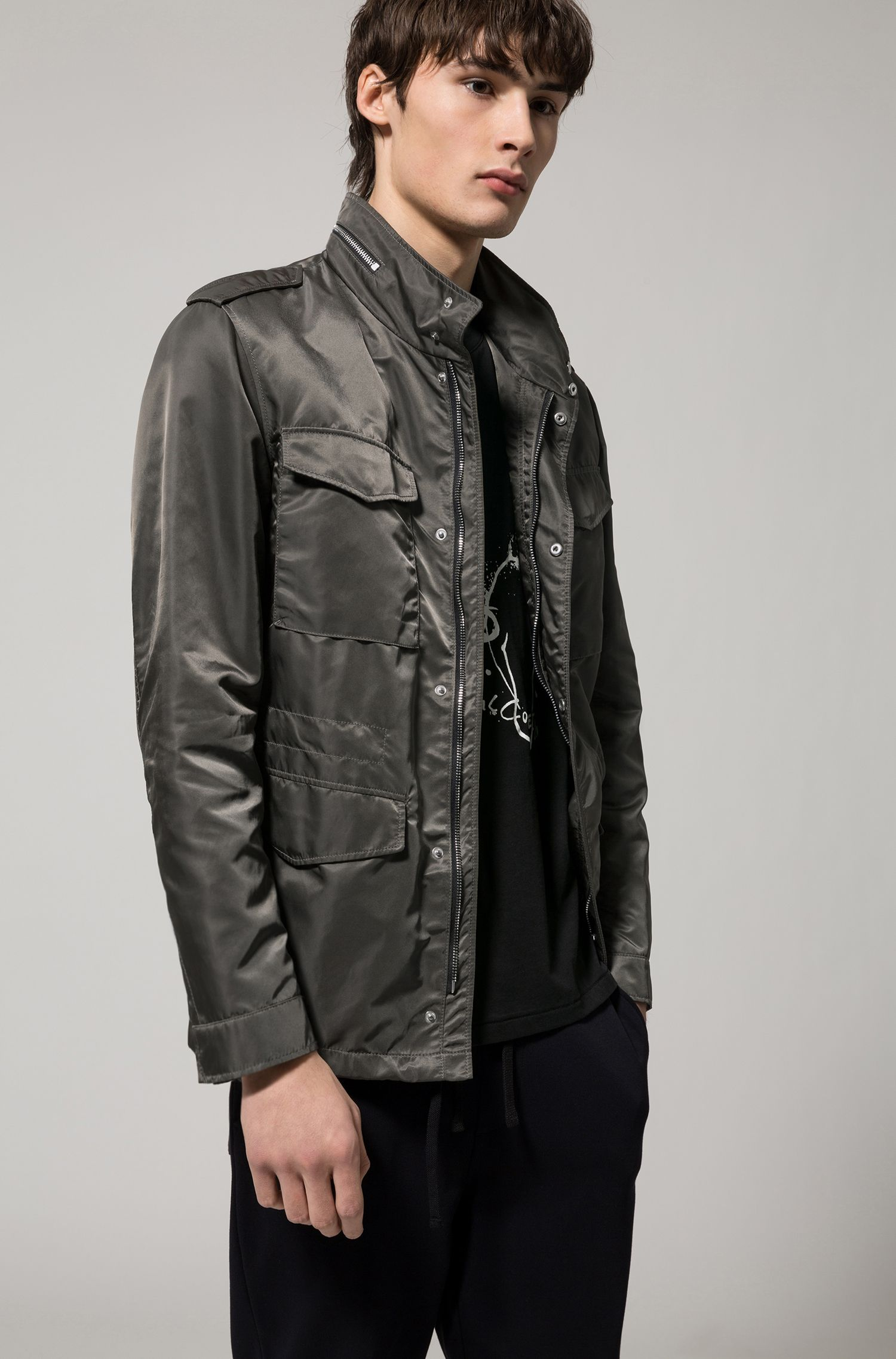 Nylon Field Jacket | Bingou