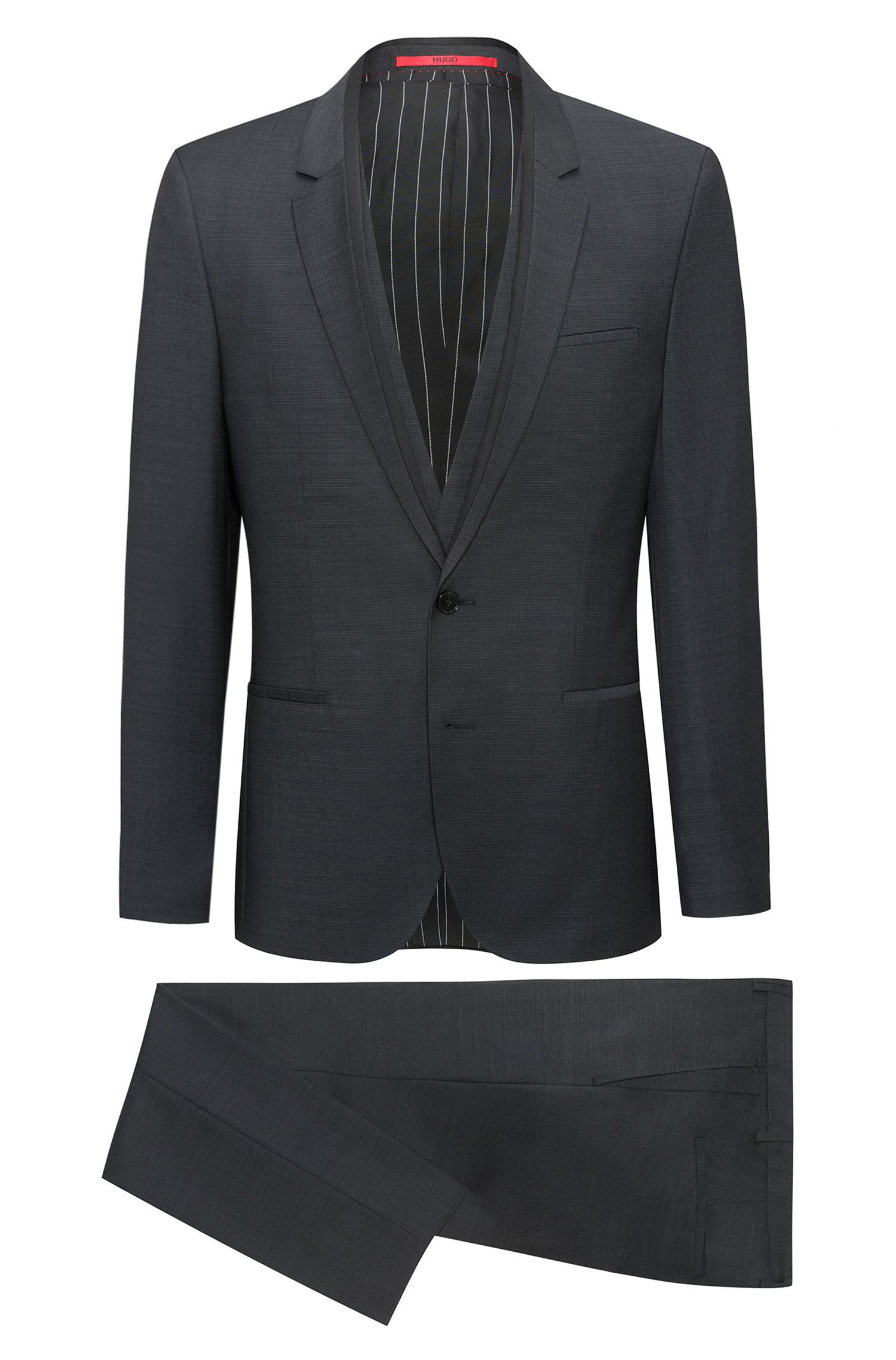 Italian Virgin Wool 3-Piece Suit, Extra Slim Fit | Phil/Taylor