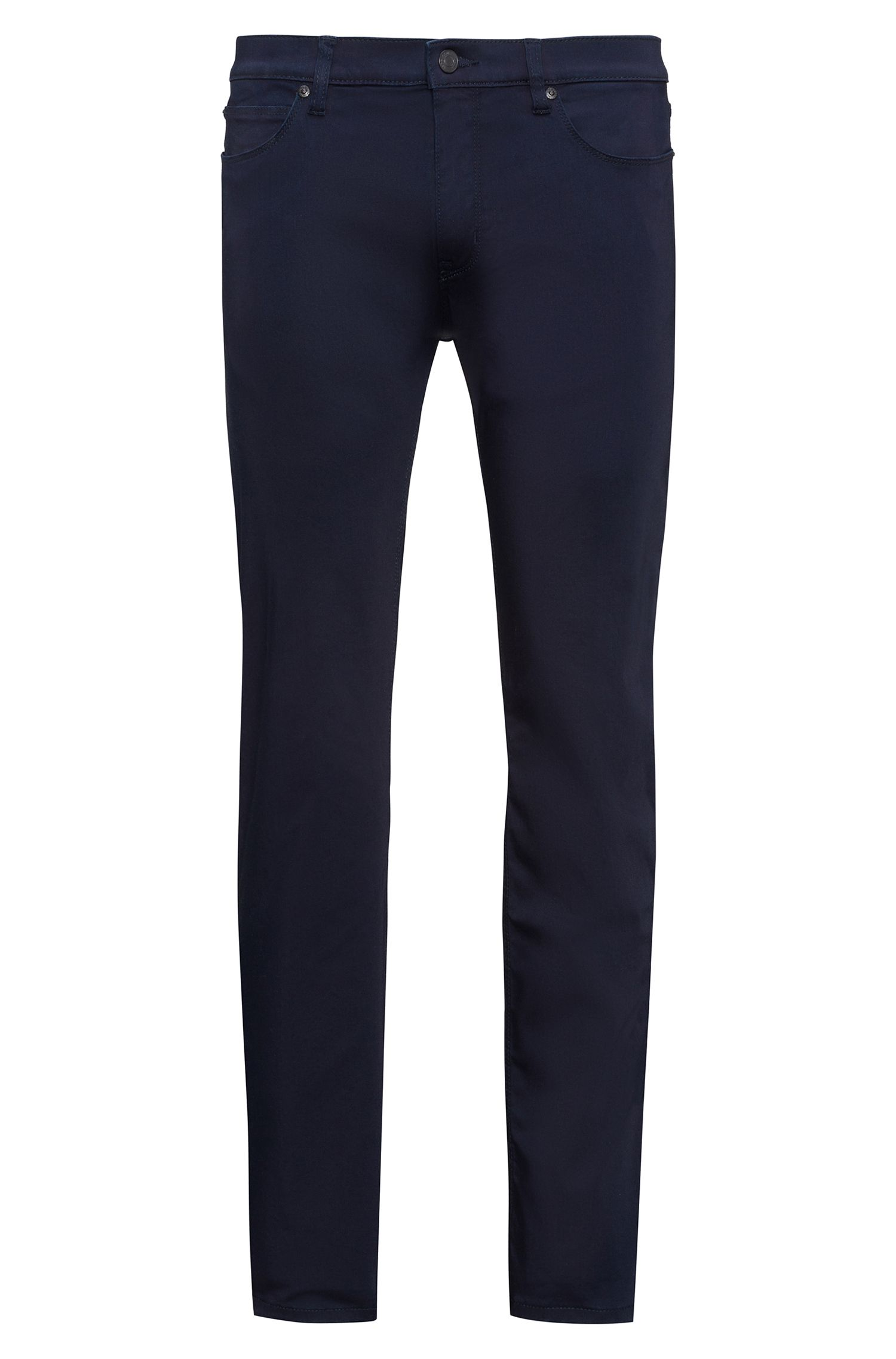 Cotton Blend Pant, Slim Fit | Hugo 708