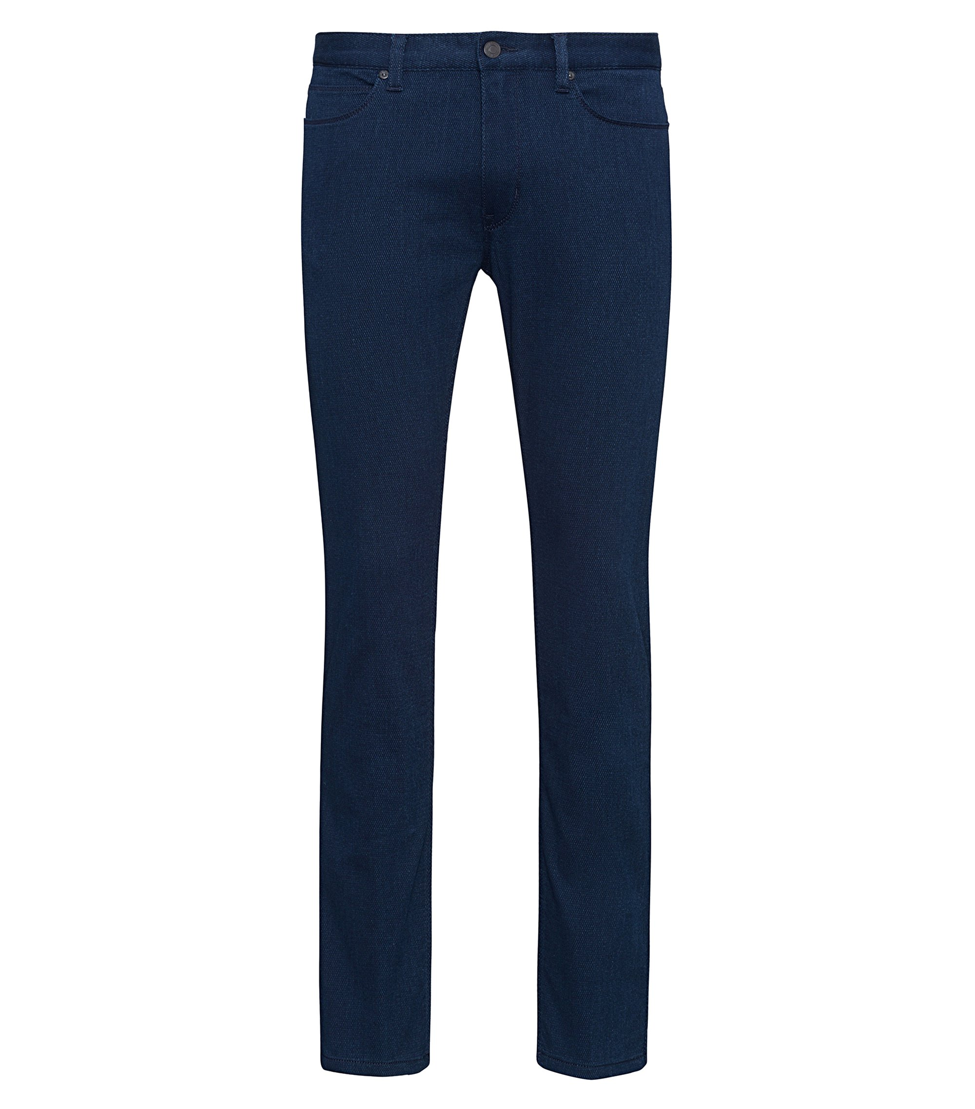 Stretch Cotton Jeans, Skinny Fit | Hugo 734, Dark Blue