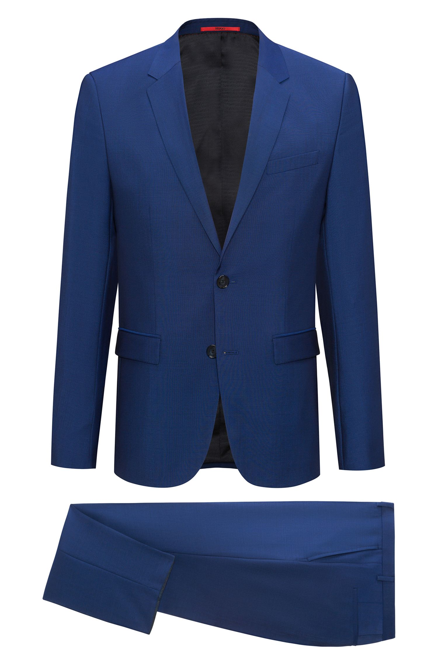 Wool Mohair Suit, Extra Slim Fit | Arti/Hesten