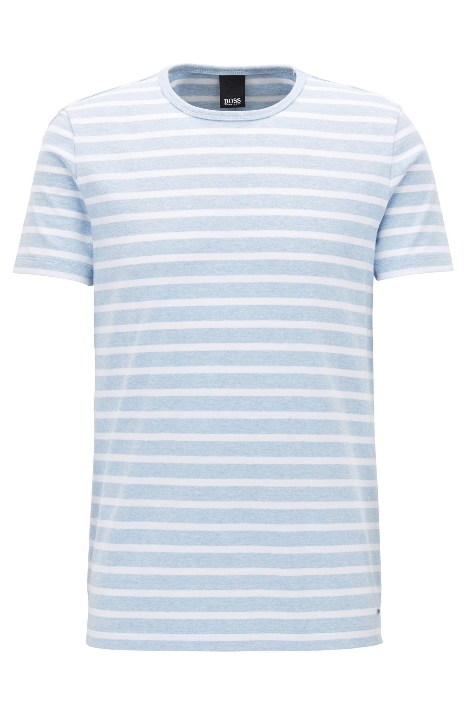 Striped Cotton T-Shirt | Tessler