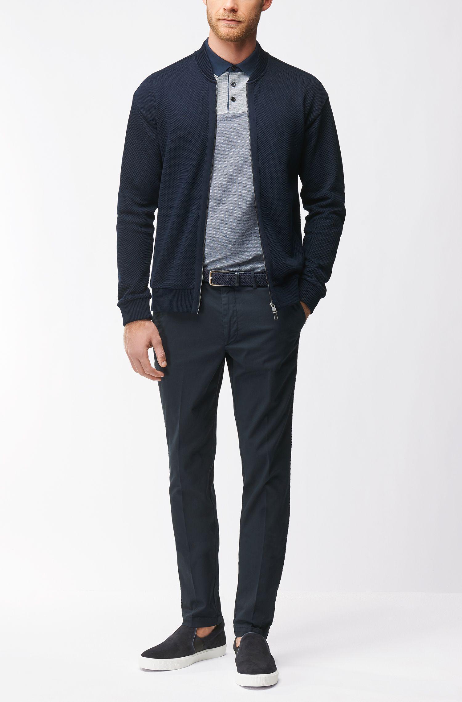 Mercerized Cotton Knit Polo Shirt, Regular Fit | Pack