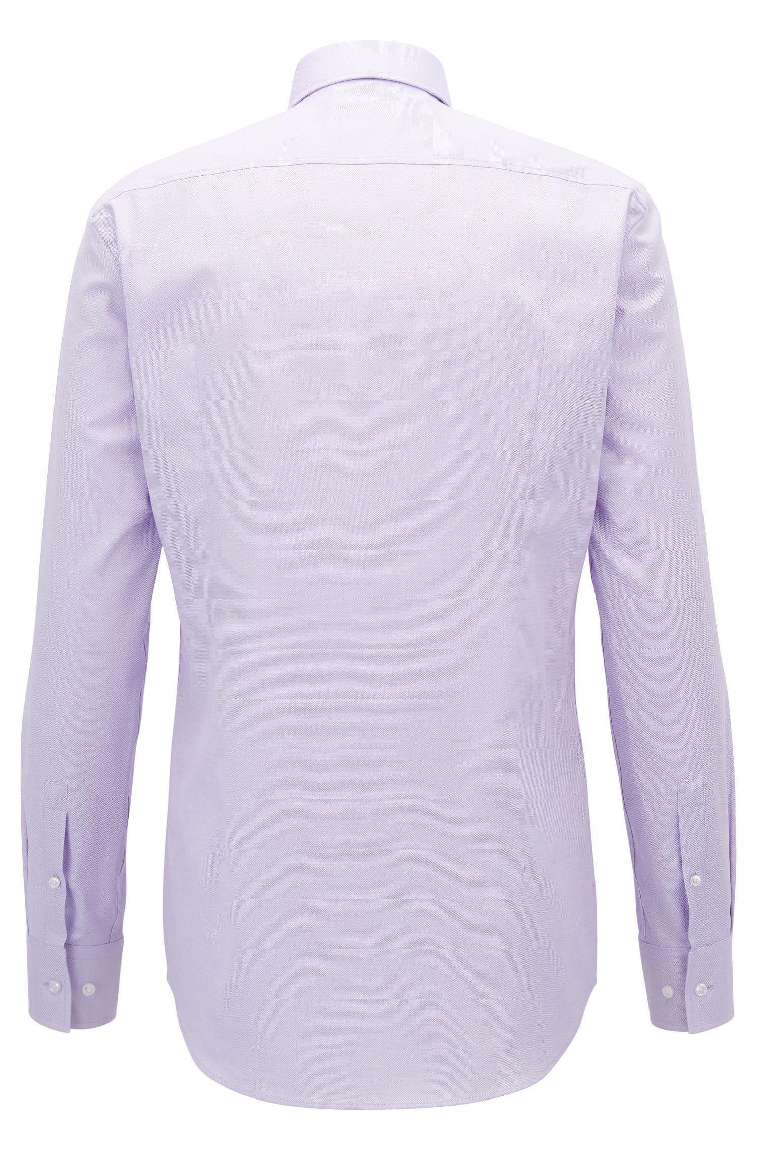 Stretch Cotton Dress Shirt, Slim Fit | Jenno