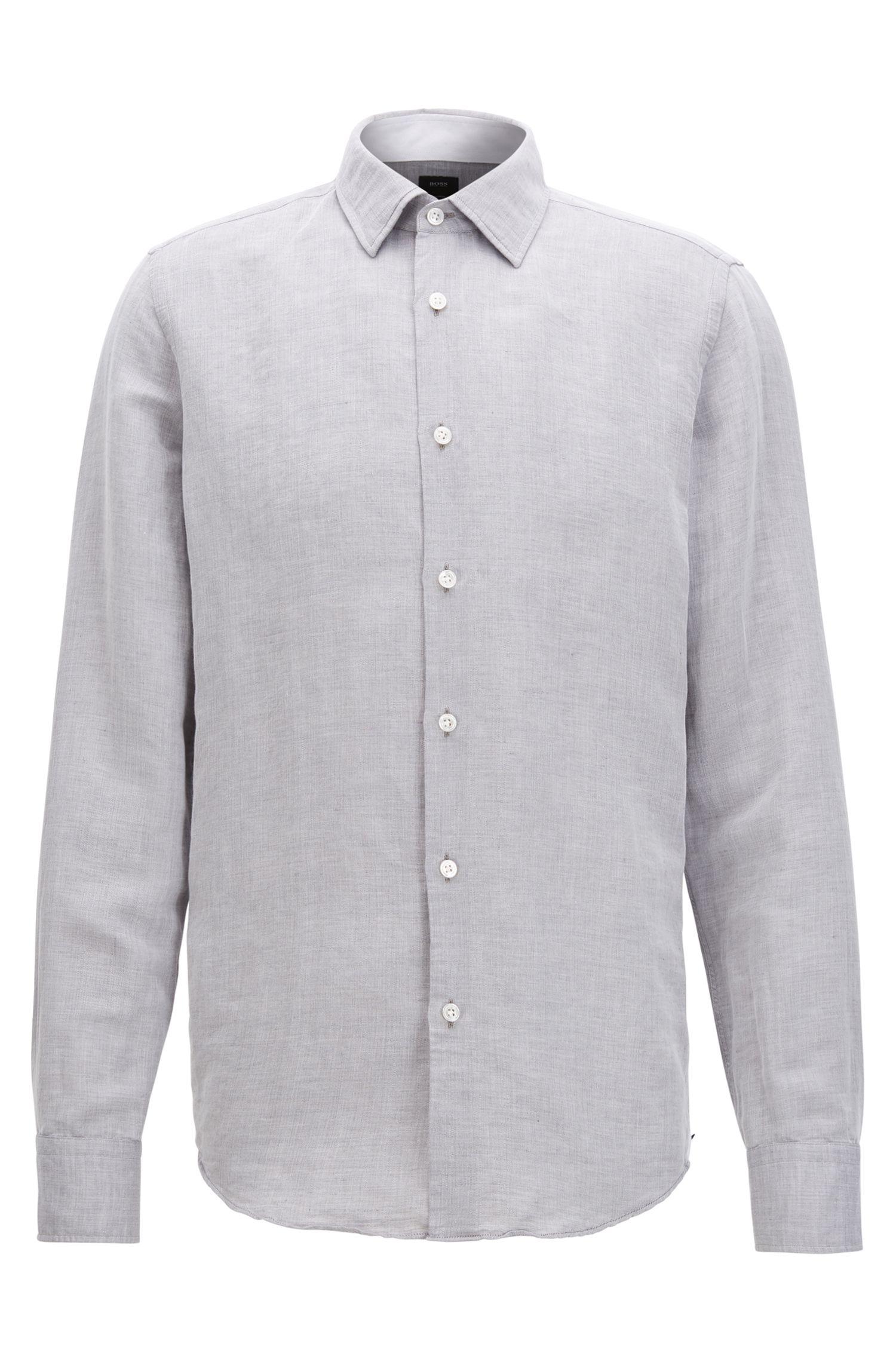 Cotton Linen Sport Shirt   T-Landon F